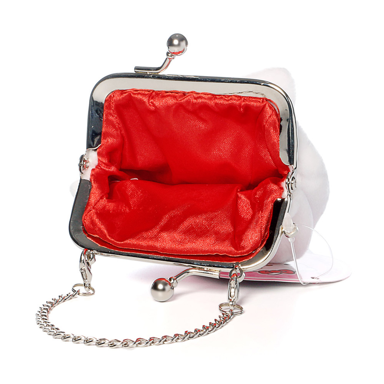 Hello Kitty Mini Ball Clasp Coins Wallet ( Inner View )
