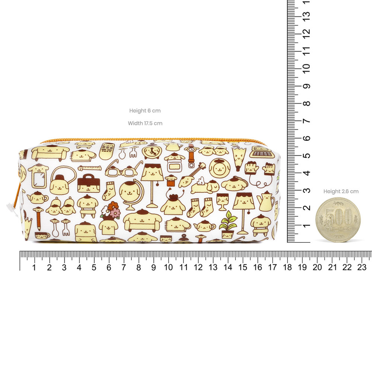 Pompompurin Occupy Home Lifestyle Pencil Case ( Proportion )