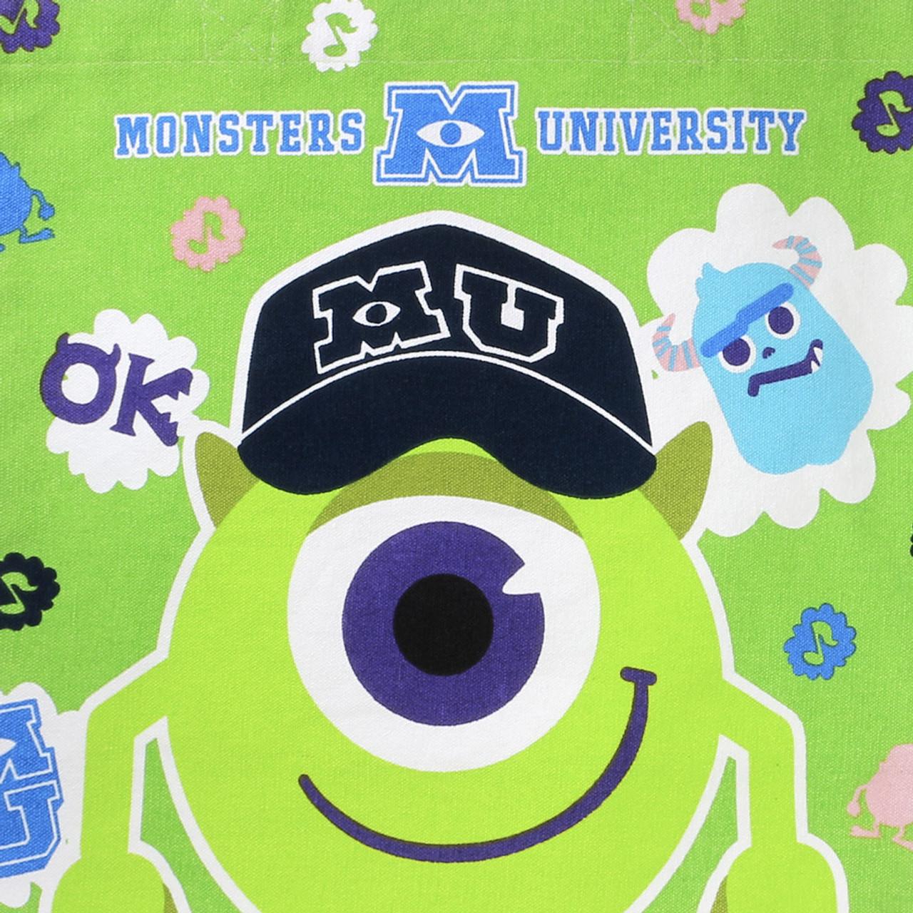 Monster University Mike Canvas Tote Bag ET174A ( Close-up )