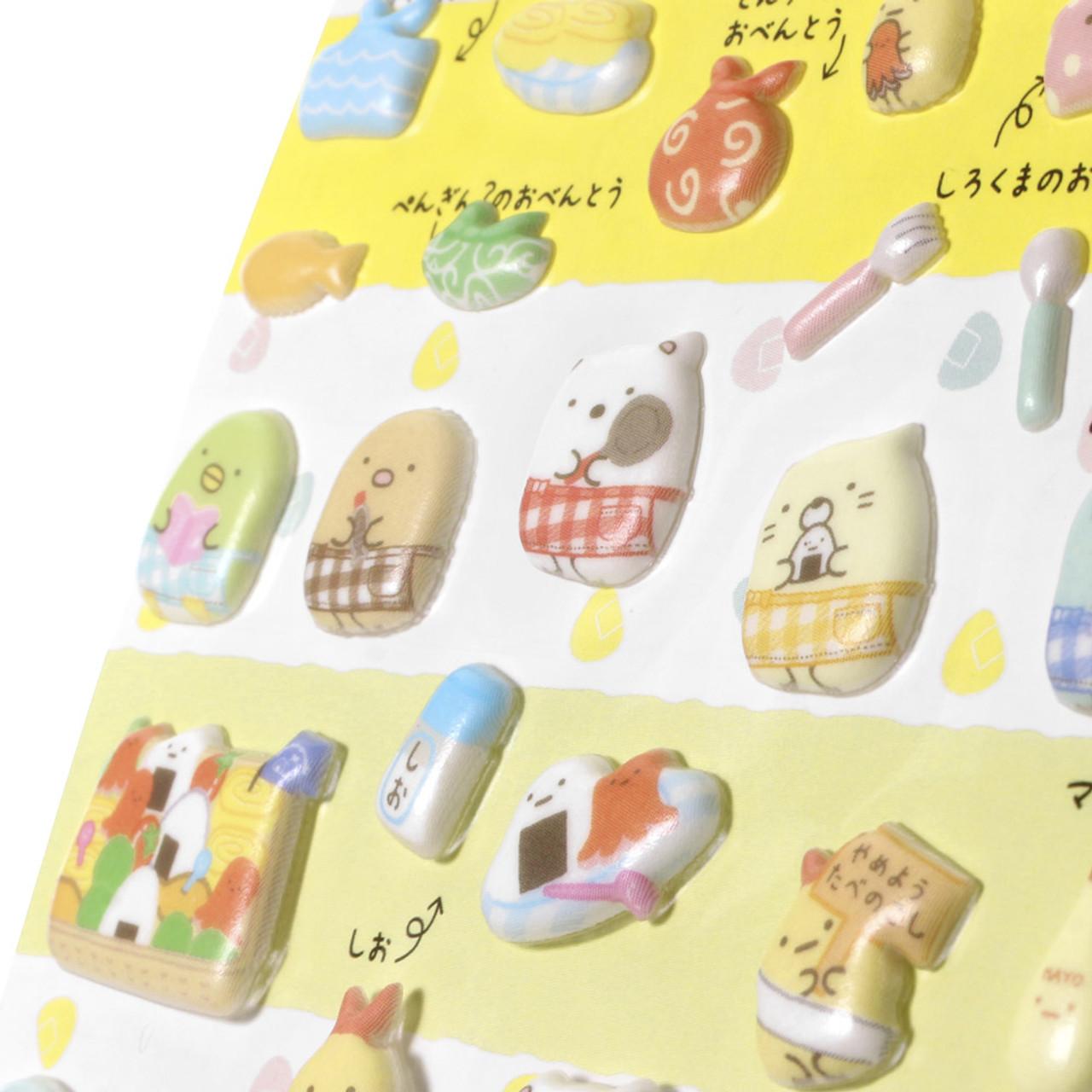 Sumikko Gurashi Puffy Sticker SE31401 ( Close-up )