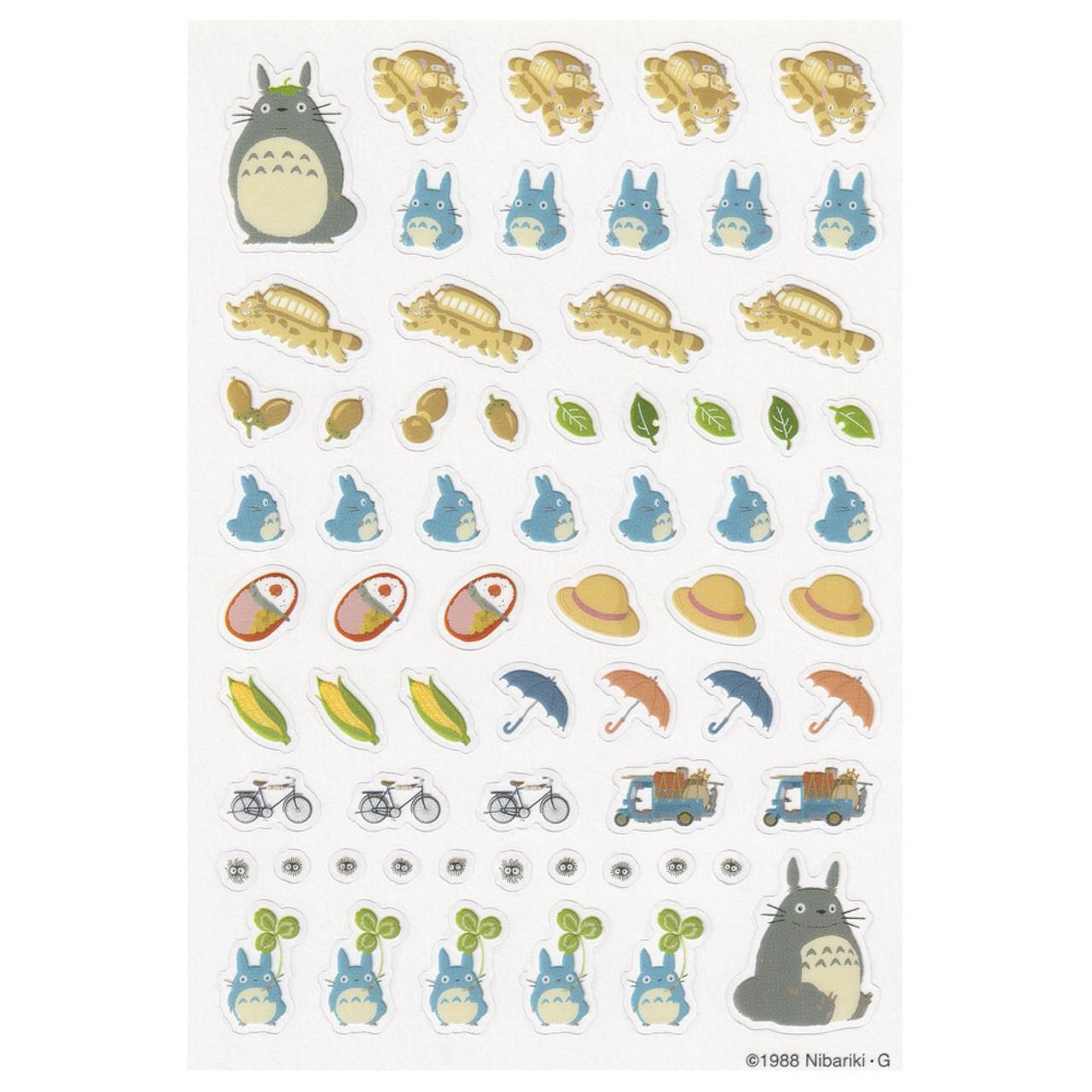 Totoro Schedule Seal 2 Style Sticker Sheet ( Style 02 )