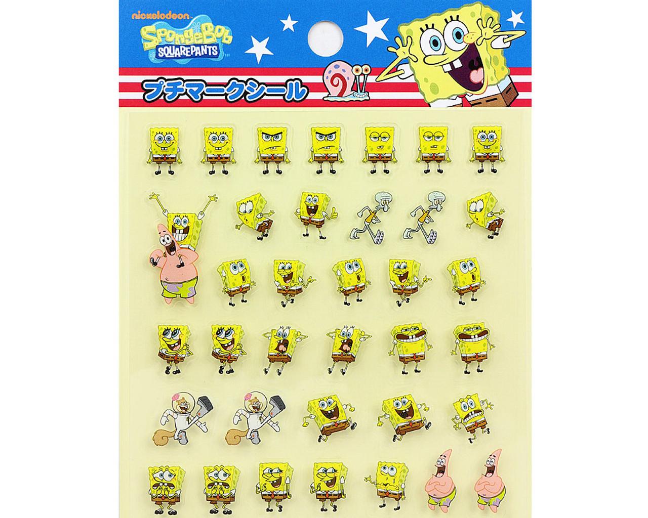 SpongeBob Happy Face PVC Sticker 19889-13GAT ( Top Part )