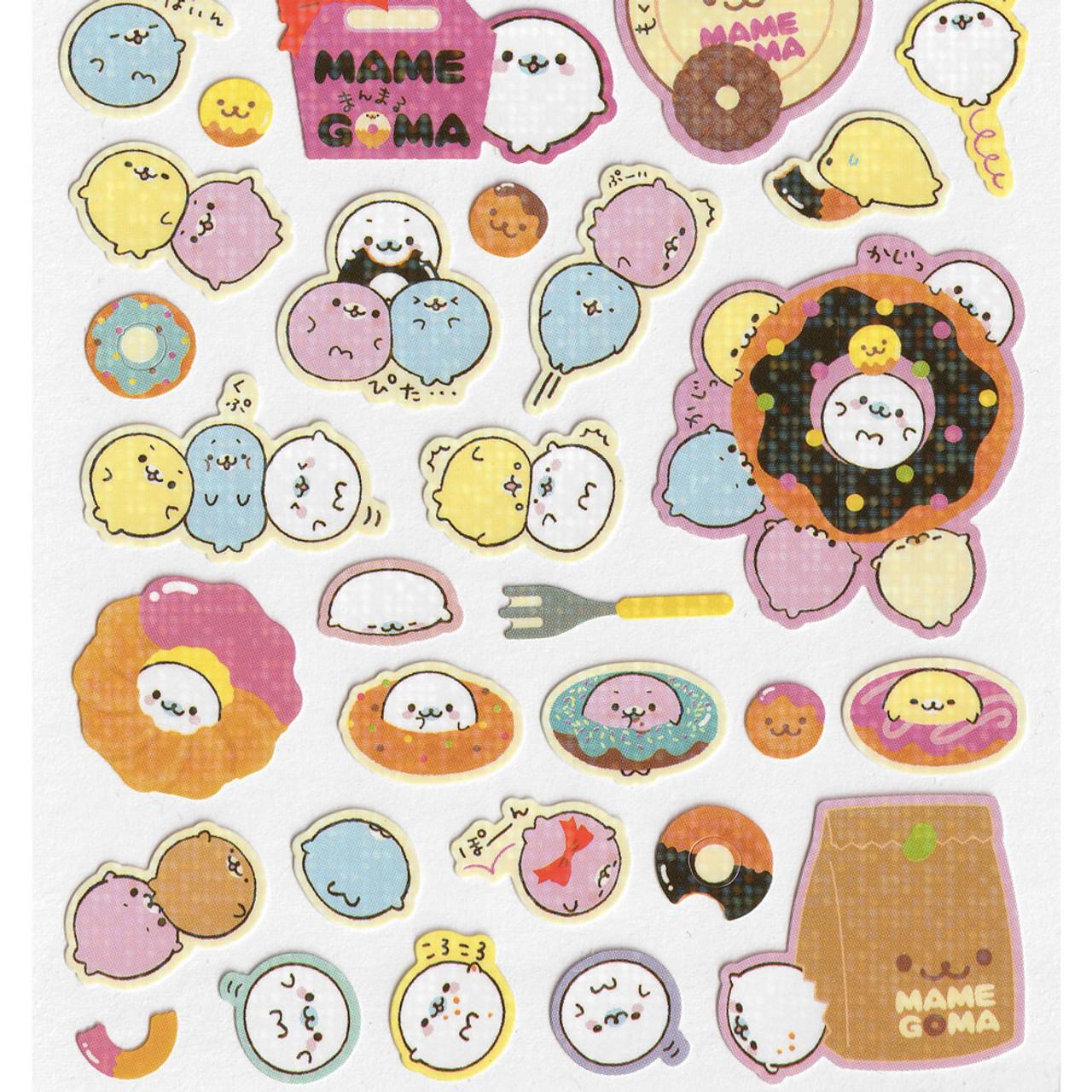 Mamegoma Sea Lion Glitters Sticker SE07101 ( Bottom Part )