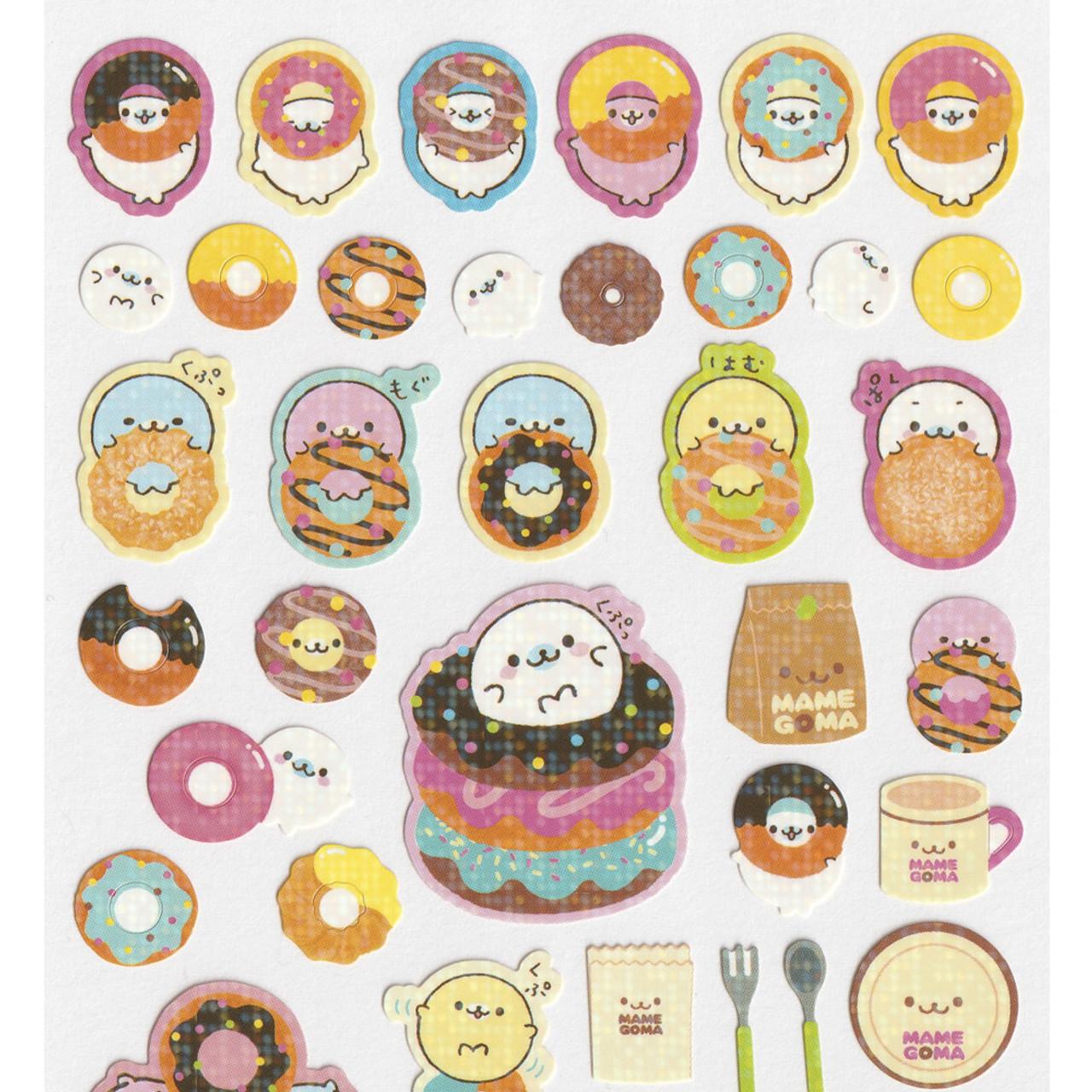 Mamegoma Sea Lion Glitters Sticker SE07102 ( Top Part )