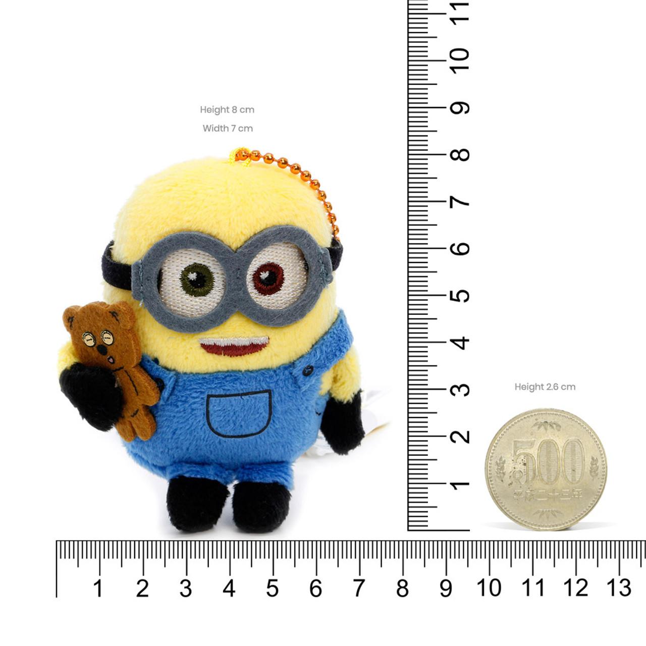 Bob The Minions Mascot Plush Keychain ( Proportion )