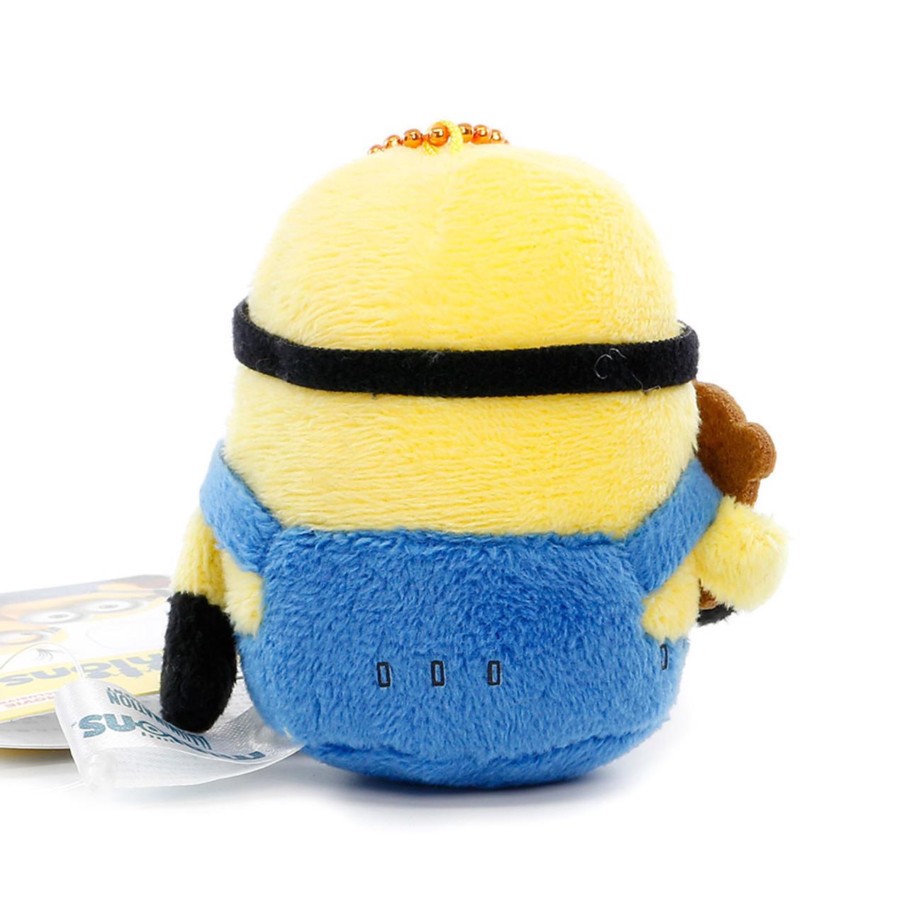 Bob The Minions Mascot Plush Keychain ( Back View )