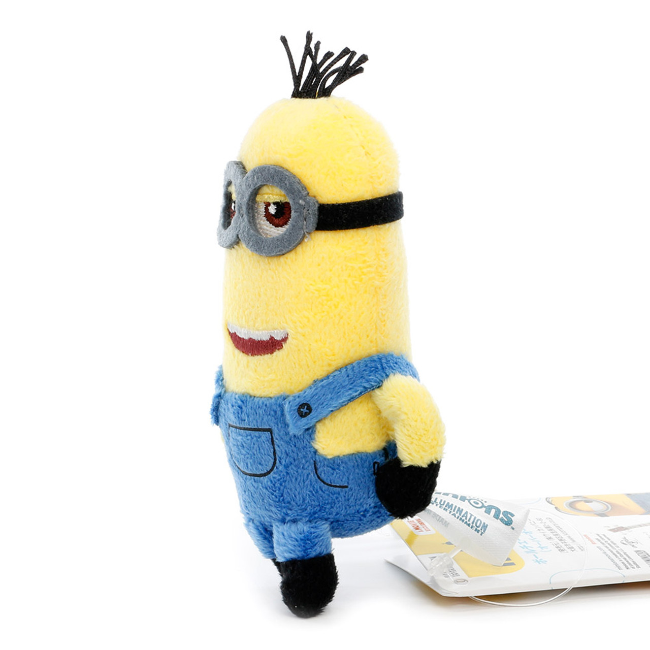 Kevin The Minions Mascot Plush Doll Charms ( Side View )