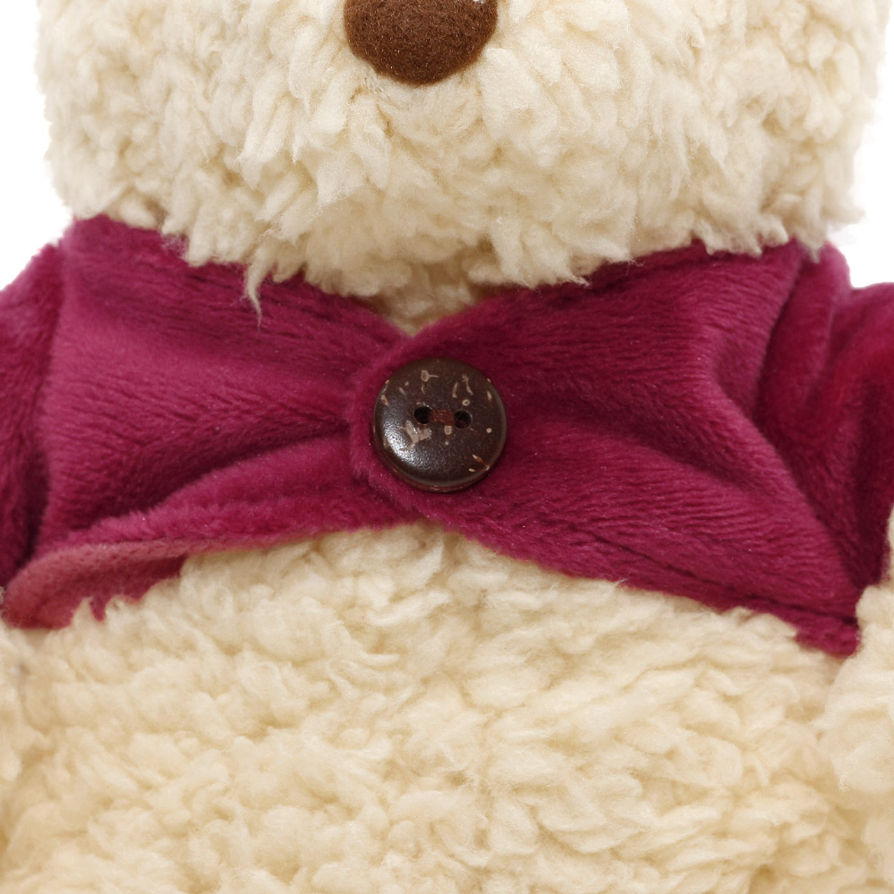 Disney Winnie The Pooh Classic Fluffy Stuffed Animal ( Close-up )