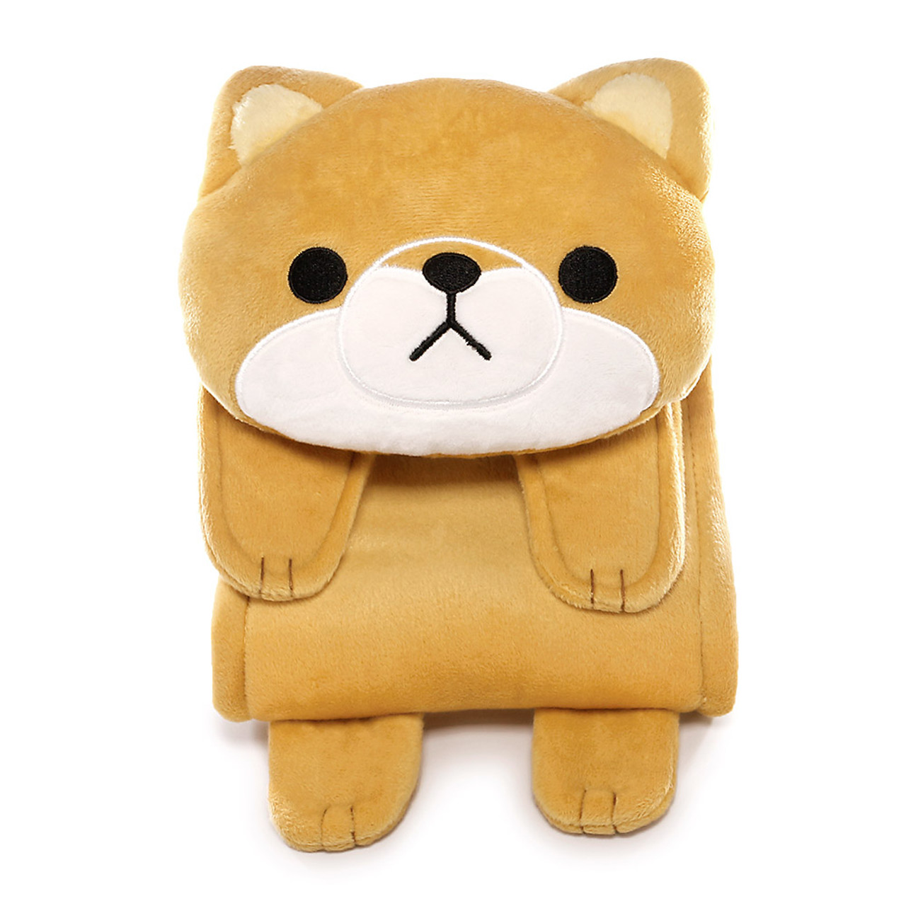 Meiho Shiba Inu Dog Toilet Roll Holder Plush Cover ( Front View )