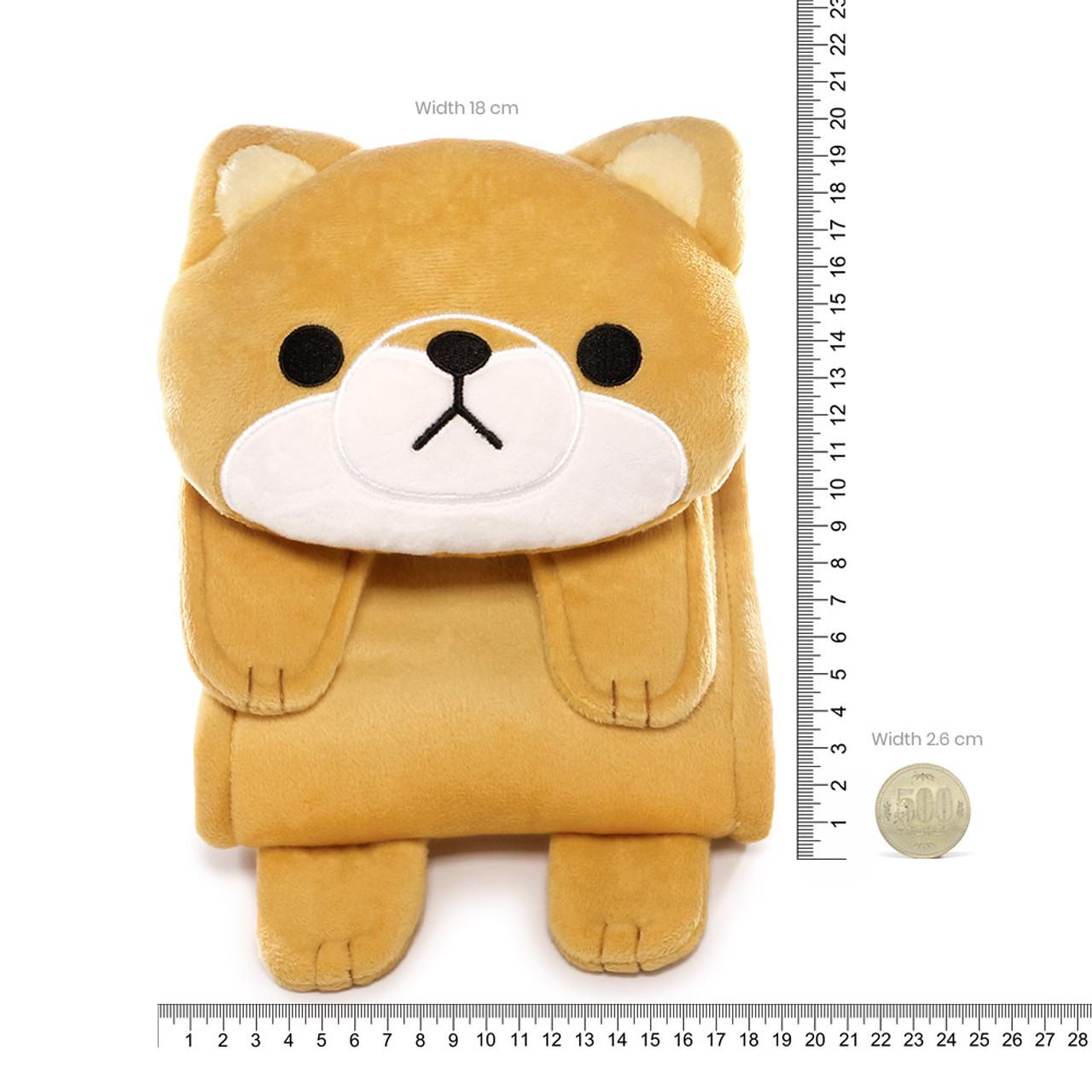 Meiho Shiba Inu Dog Toilet Roll Holder Plush Cover ( Proportion )