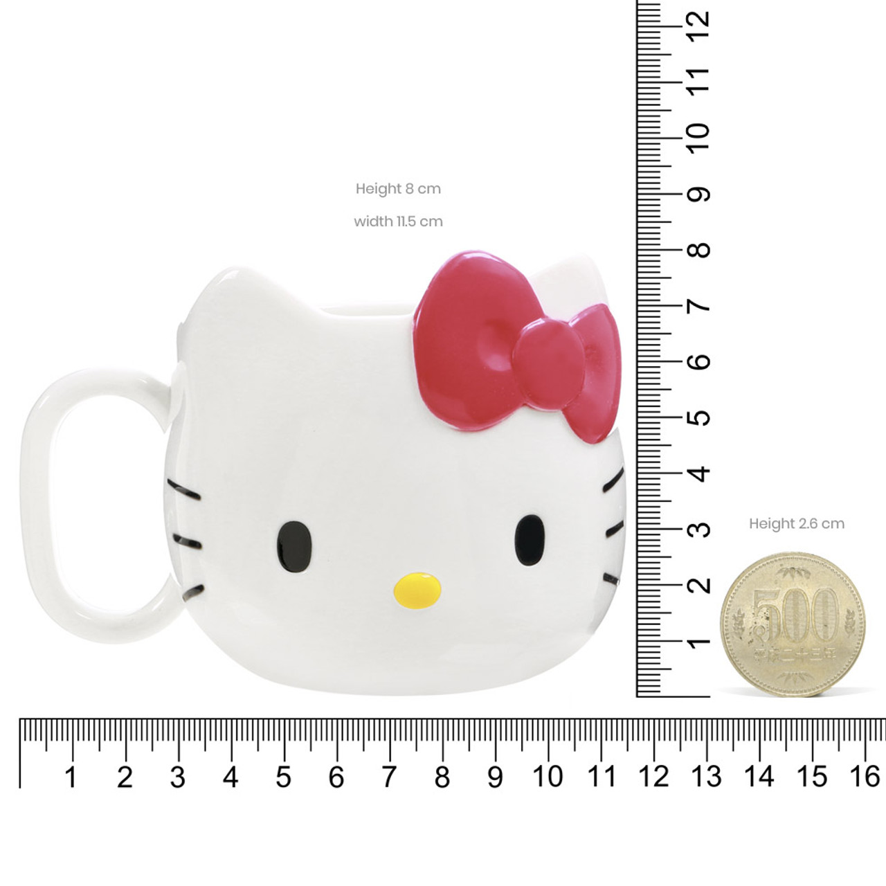 Sanrio Hello Kitty ABS Plastic Cup ( Proportion )