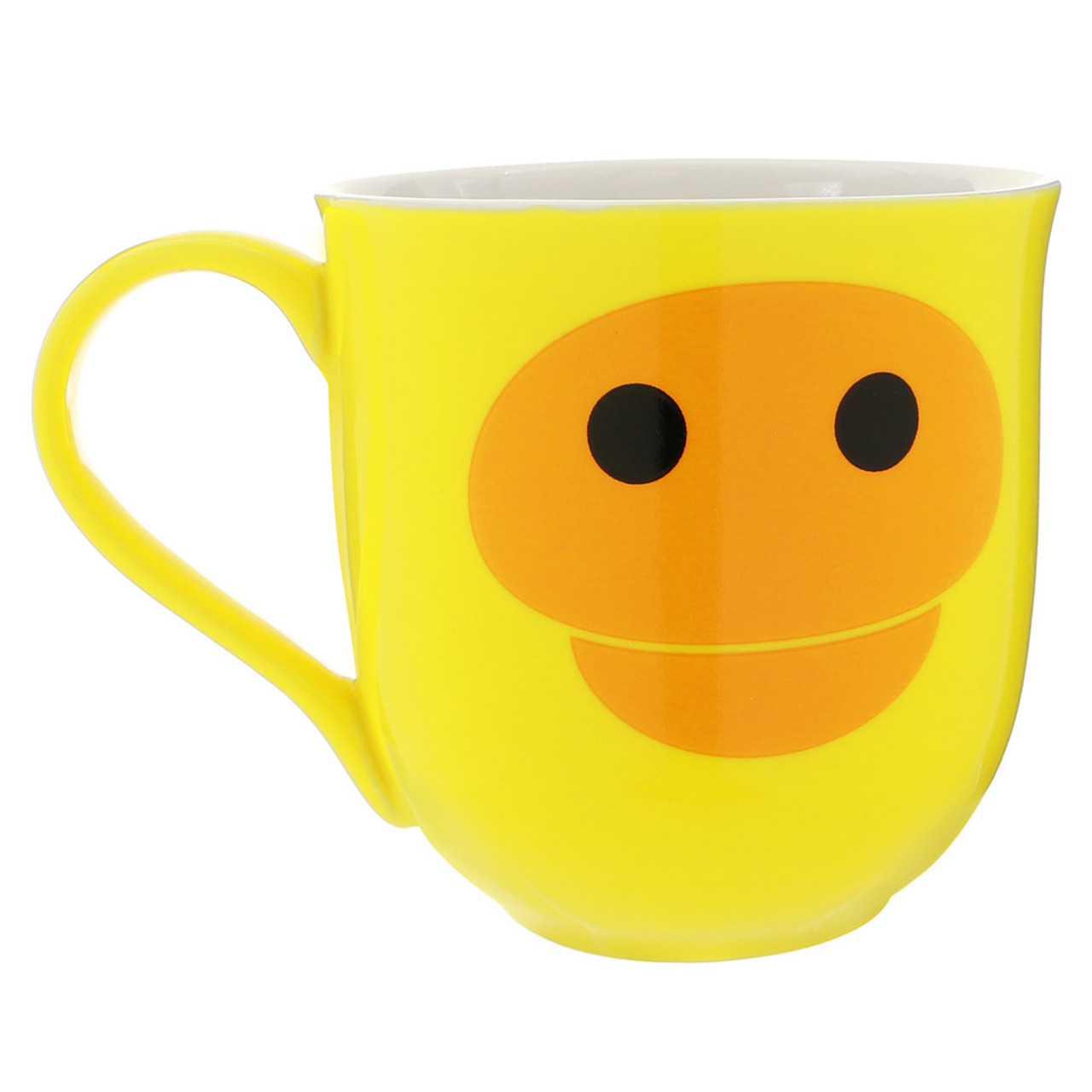 Kiiroitori Yellow Chicken Mouth Ceramic Cup ( Front View )