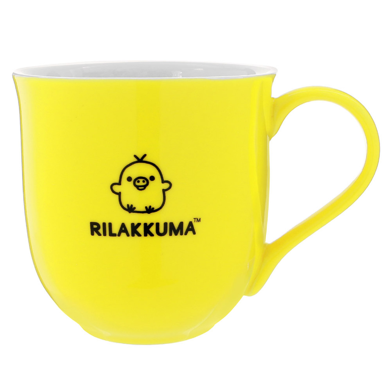 Kiiroitori Yellow Chicken Mouth Ceramic Cup ( Back View )