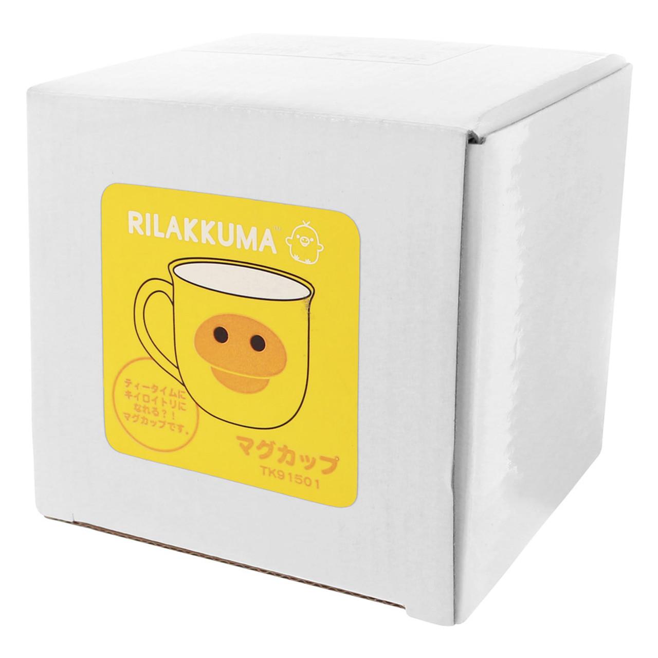 Kiiroitori Yellow Chicken Mouth Ceramic Cup ( Box View )