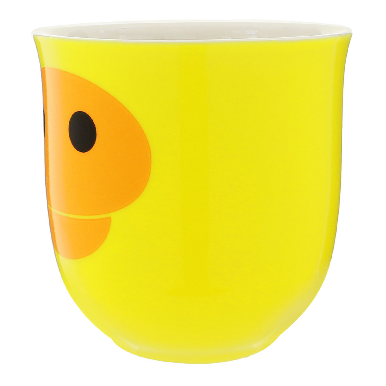 Kiiroitori Yellow Chicken Mouth Ceramic Cup ( Side View )