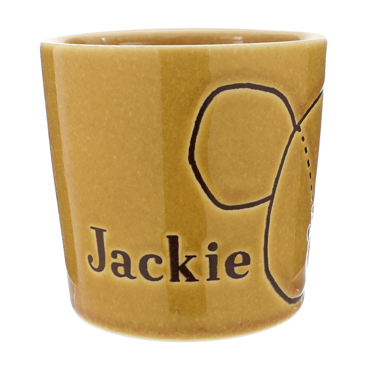 Japan The Bear School Jackie Ceramic Retro Tea Cup ( Side View )