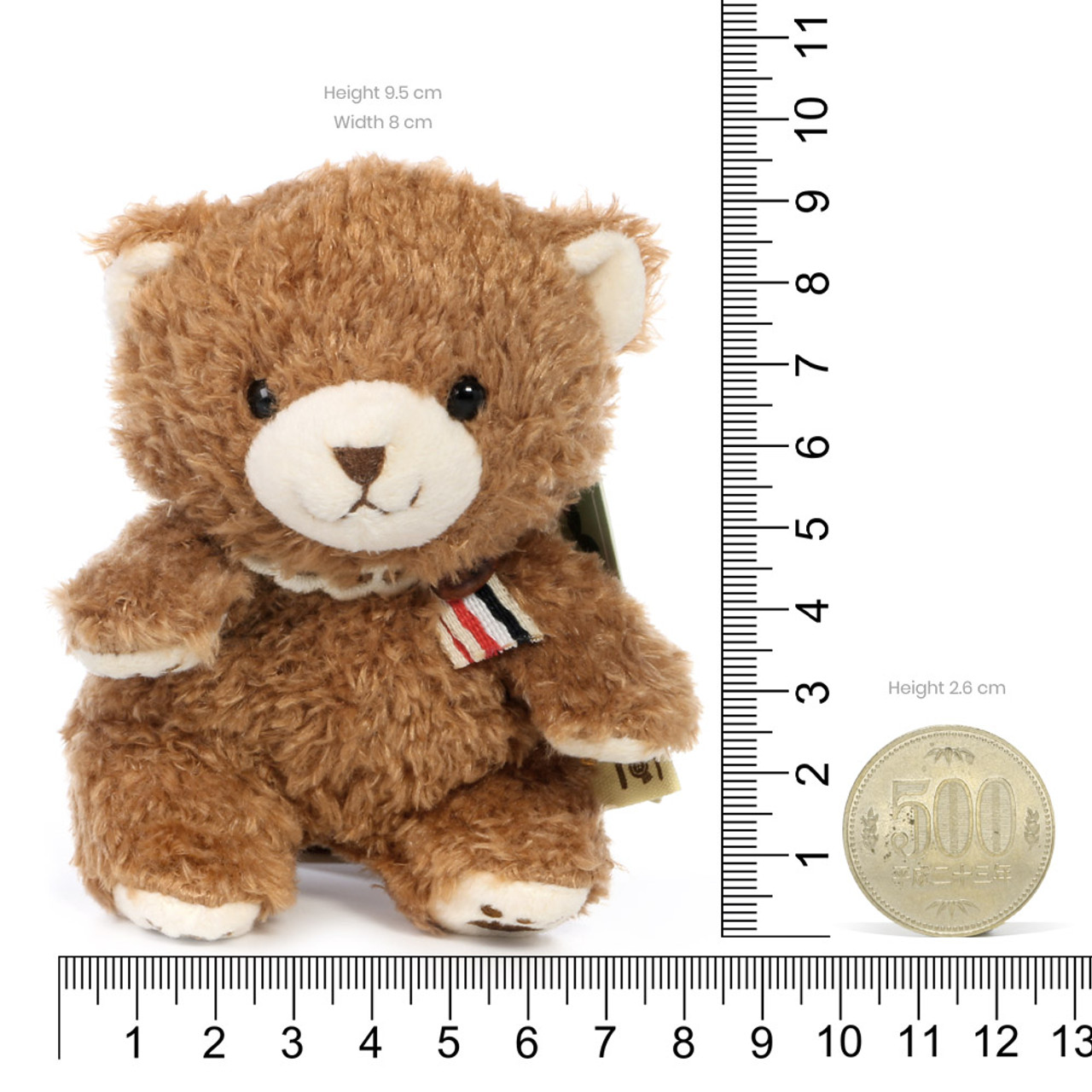 Naito Design Tot Series Bear Doll Charms - Kumumu ( Proportion )