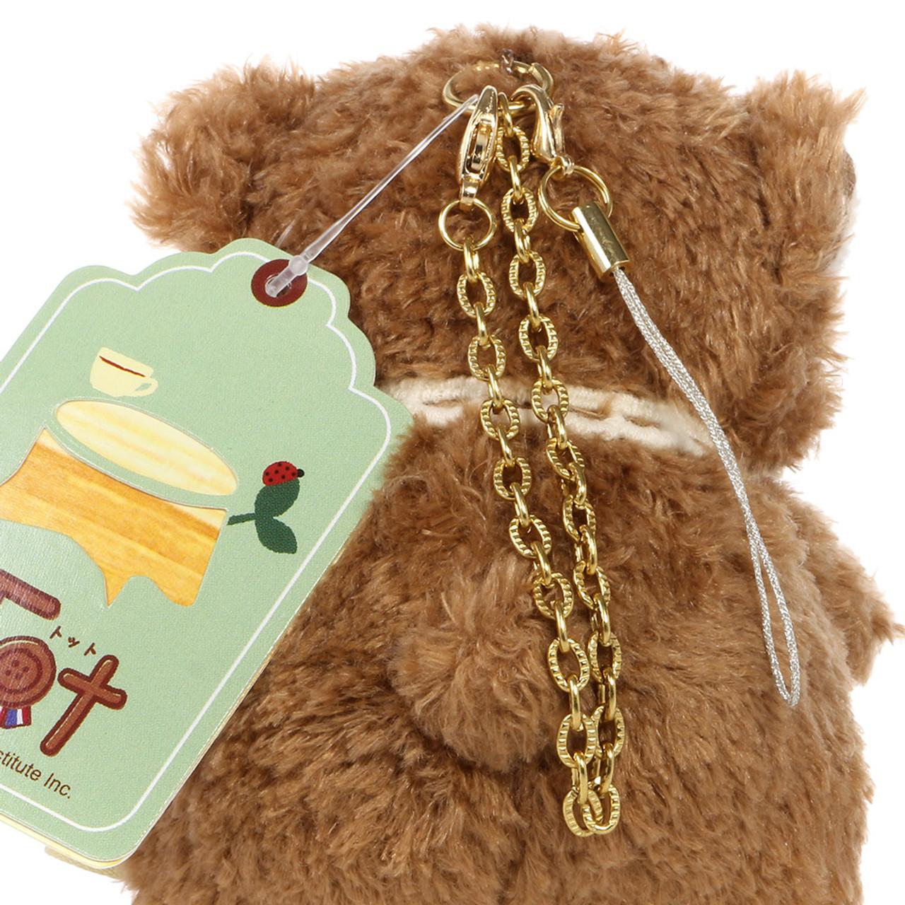 Naito Design Tot Series Bear Doll Charms - Kumumu ( Chains View )