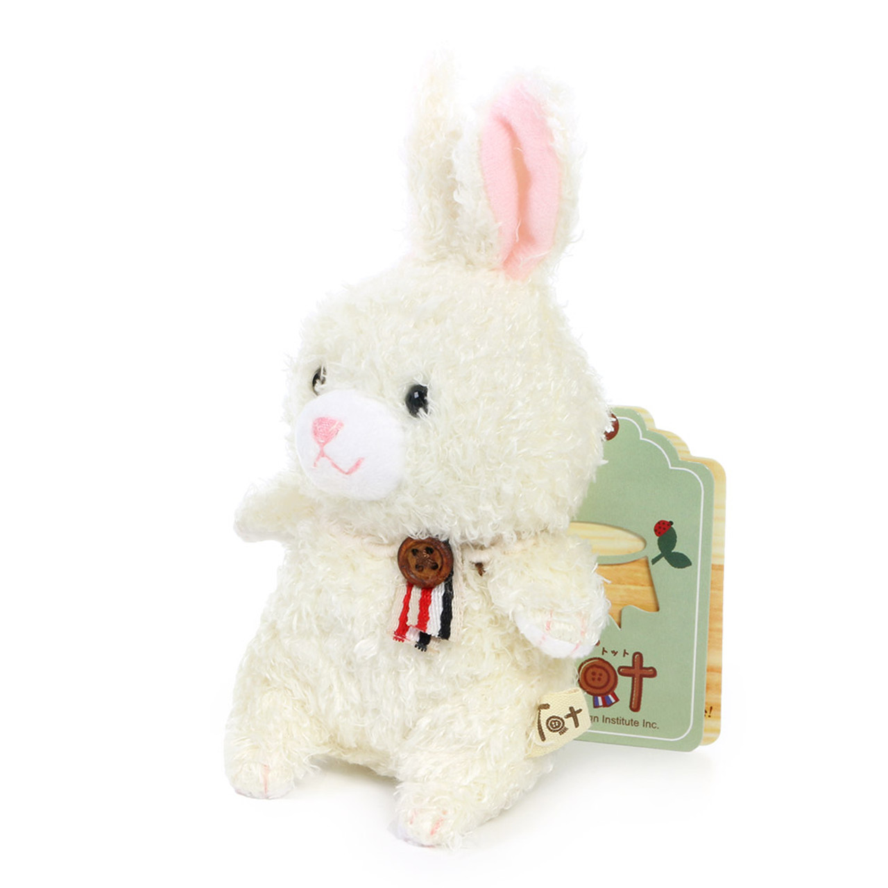 Naito Design Tot Series Rabbit Doll Charms - Lamu ( Side View )