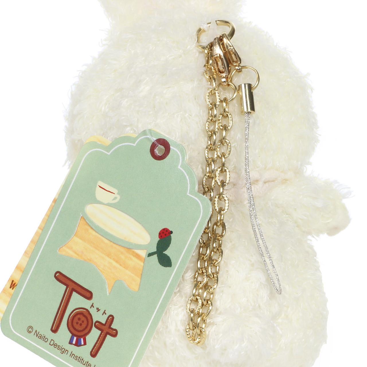Naito Design Tot Series Rabbit Doll Charms - Lamu ( Chains View )