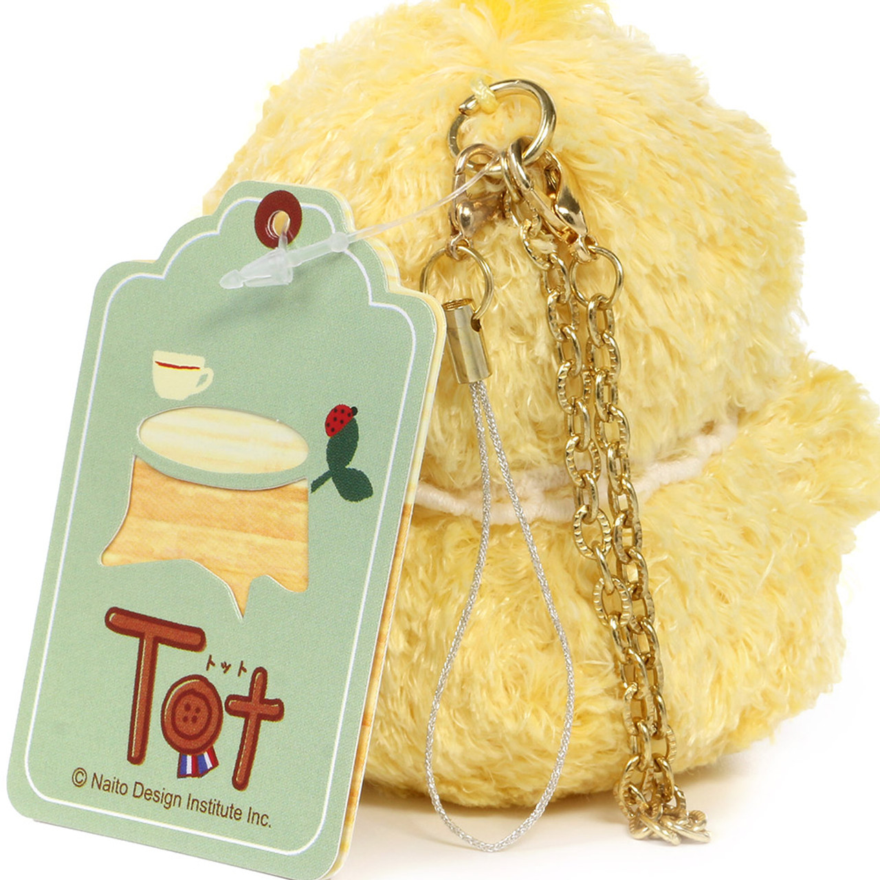 Naito Design Tot Series Chick Doll Charms - Chico ( Chains View )