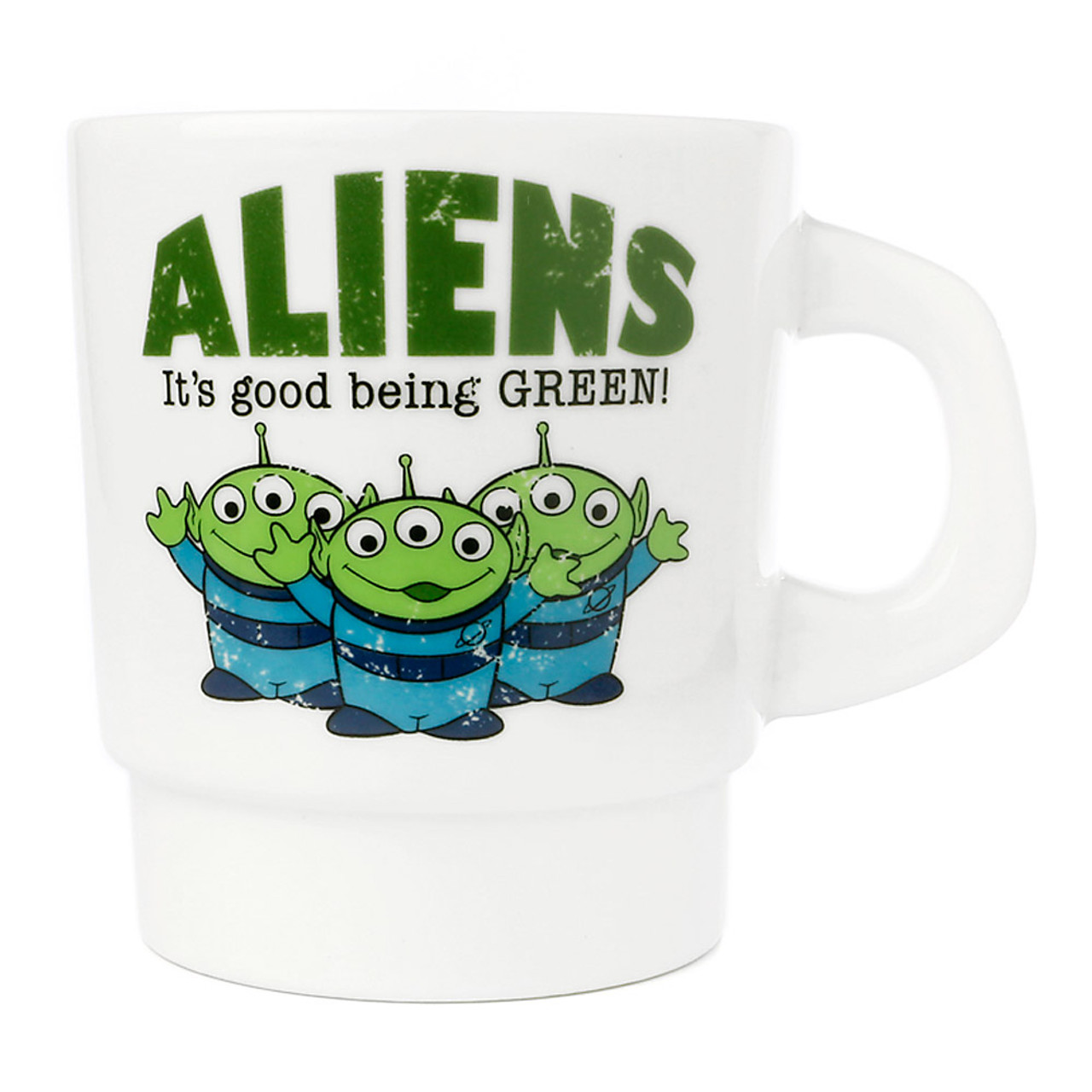 Disney Toy Story Green Aliens Milky Mug ( Front View )