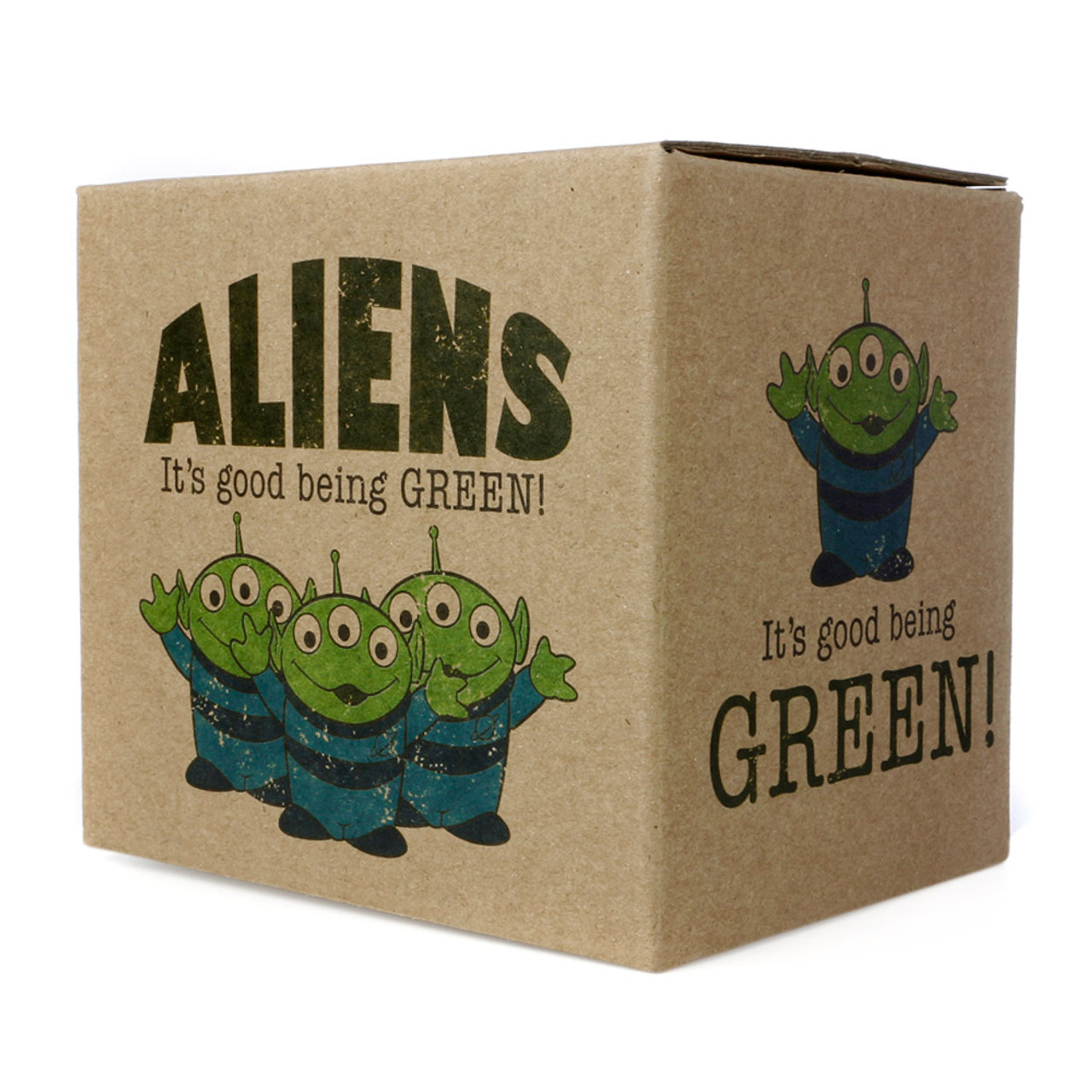 Disney Toy Story Green Aliens Milky Mug ( Box View )