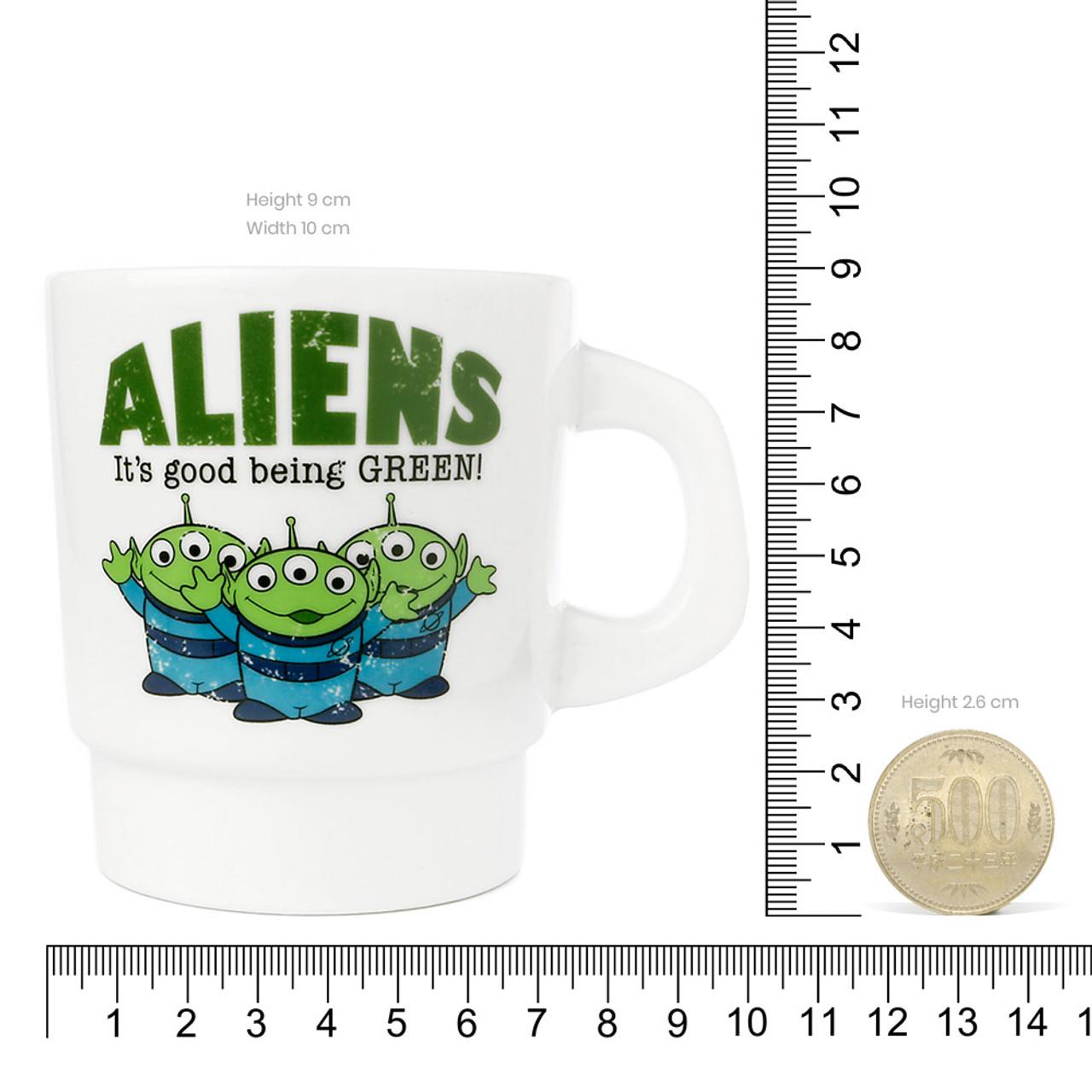 Disney Toy Story Green Aliens Milky Mug ( Proportion )