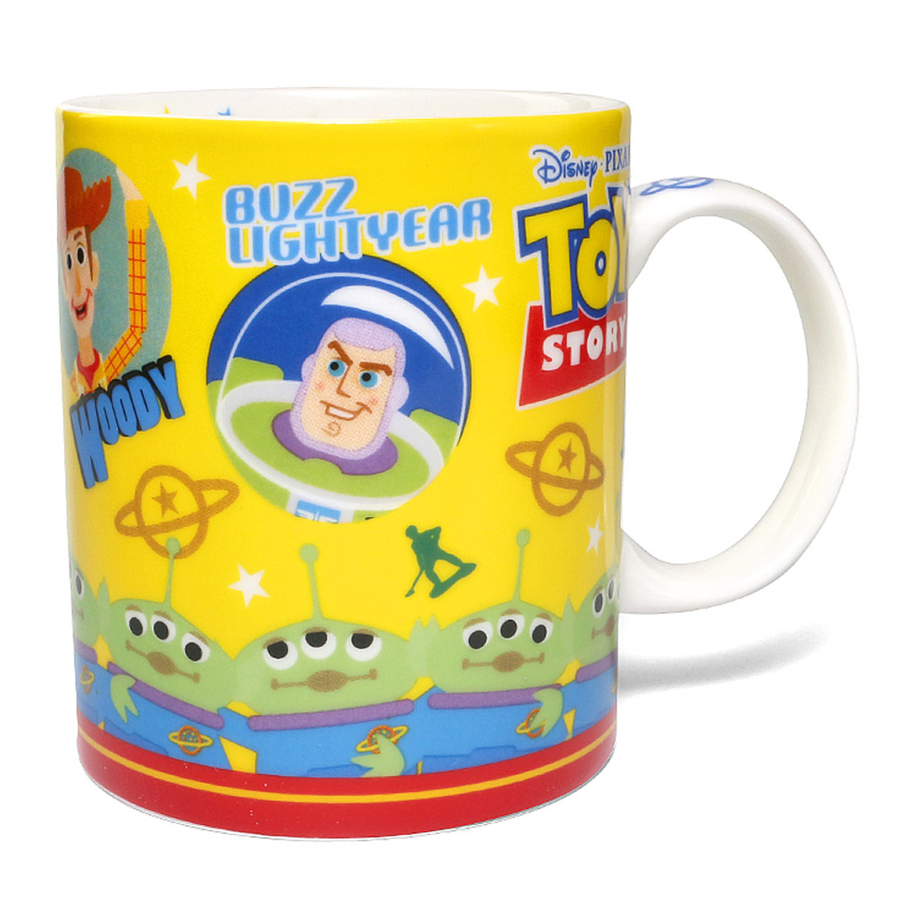 Disney Toy Story Family All In One Ceramic Mug ( Front View )
