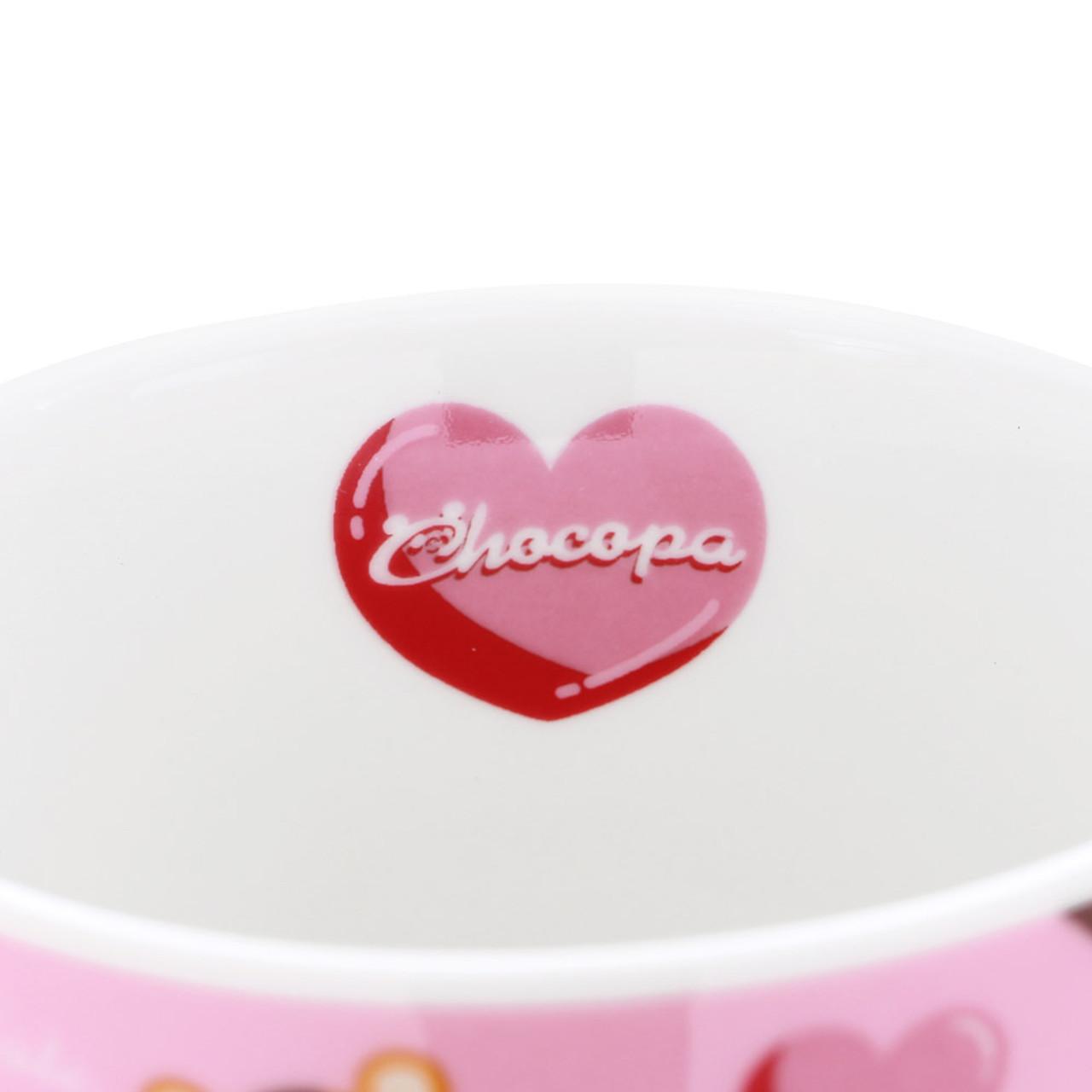 San-x Chocopa Panda Pink Porcelain Mug ( Inner View )