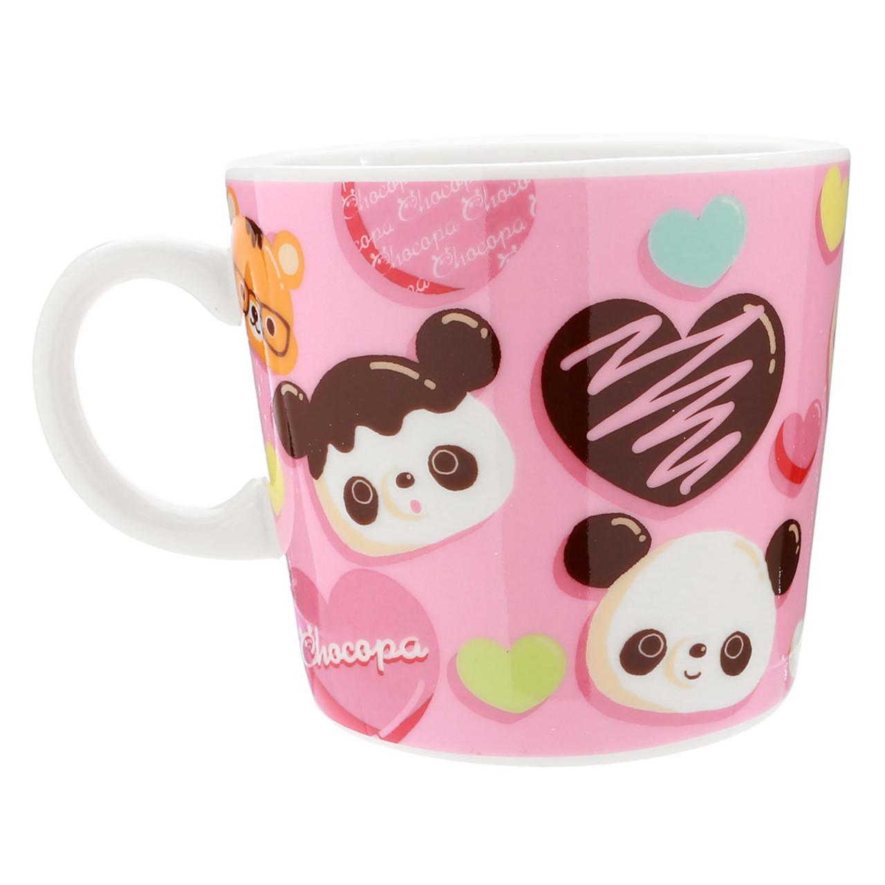 San-x Chocopa Panda Pink Porcelain Cup ( Back View )