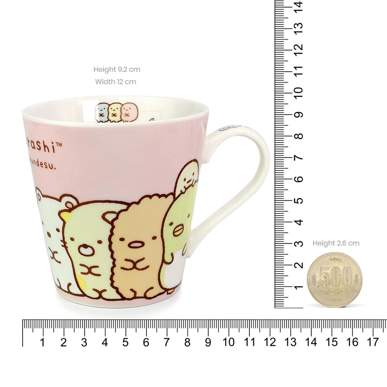 Sumikko Gurashi Measure Ceramic Cup - Horizontal ( Proportion )