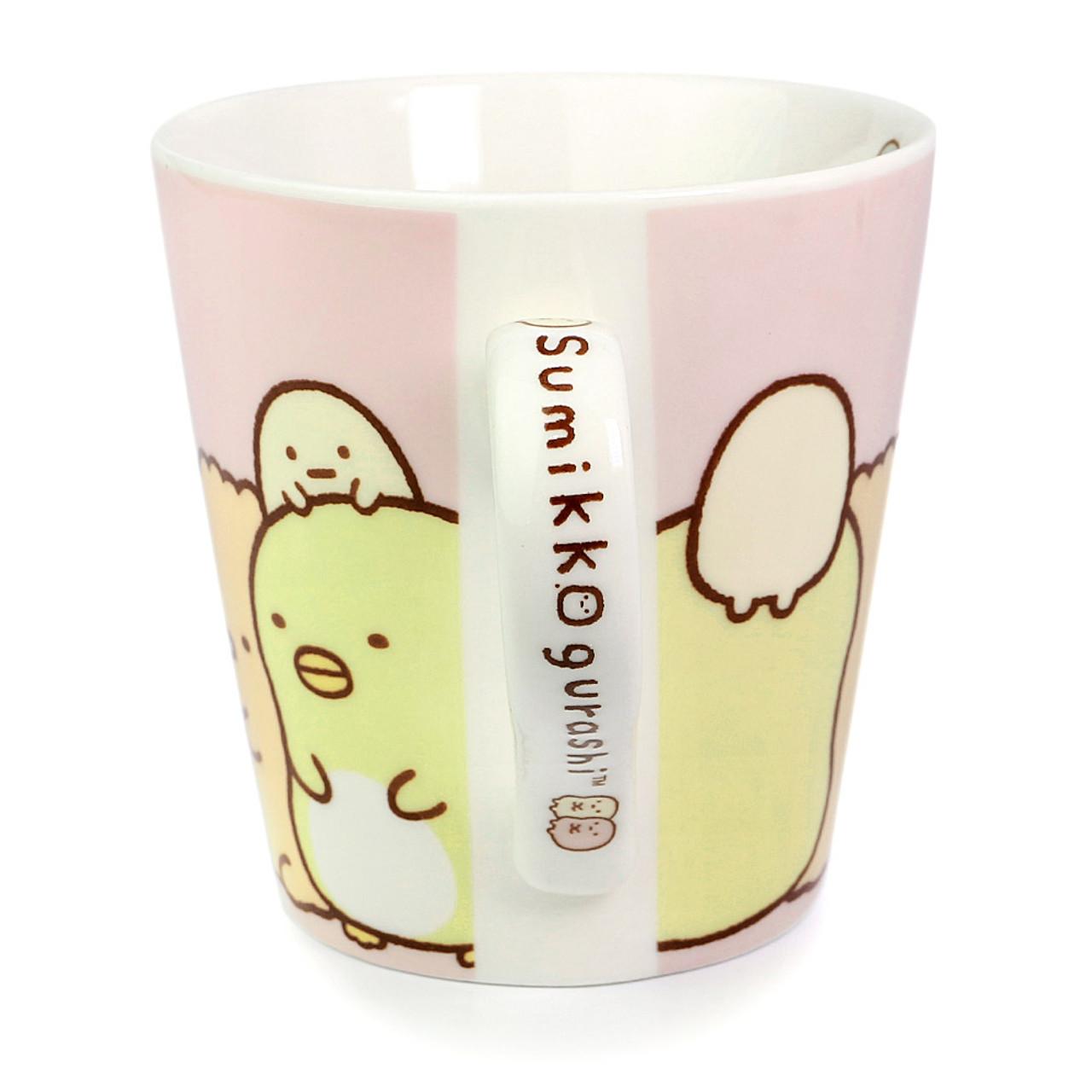 Sumikko Gurashi Measure Ceramic Cup - Horizontal ( Side View )