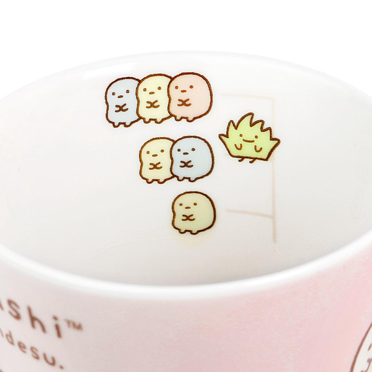 Sumikko Gurashi Measure Ceramic Cup - Horizontal ( Inner View )
