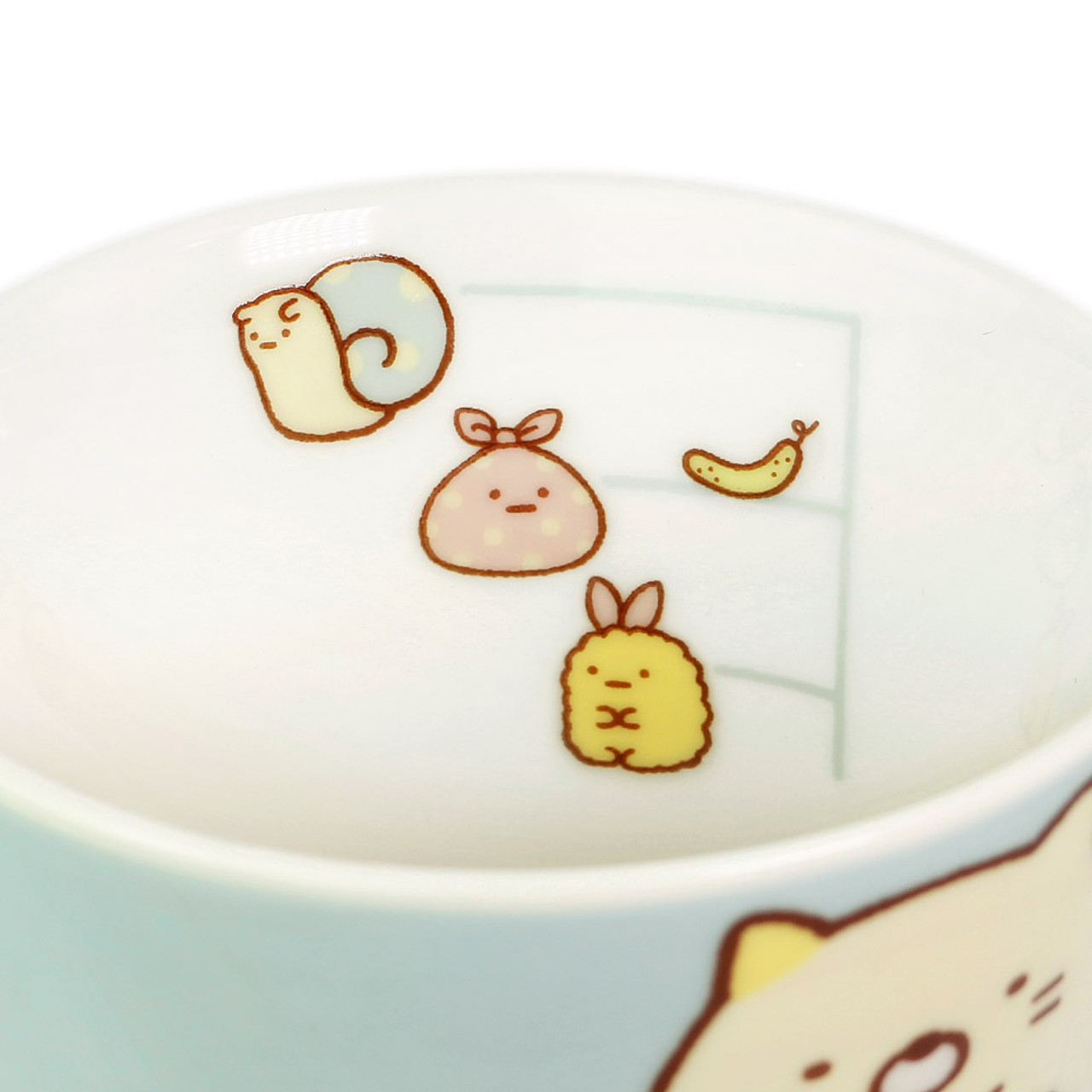 Sumikko Gurashi Measure Ceramic Mug - Vertical ( Inner View )