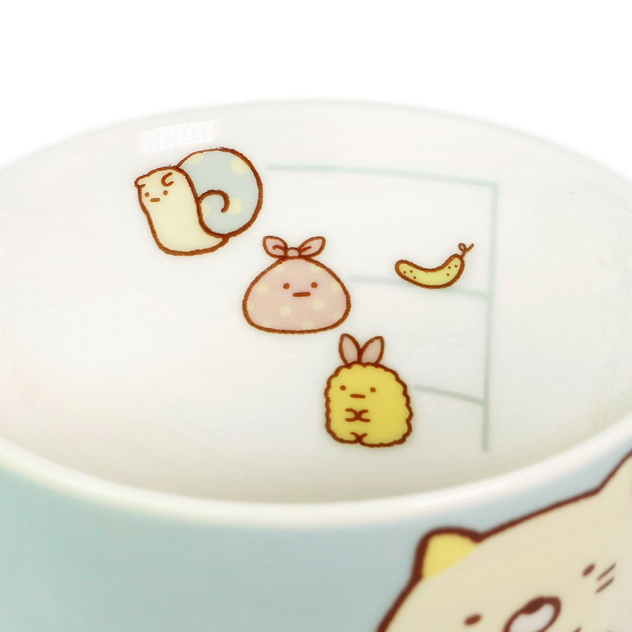 Sumikko Gurashi Measure Ceramic Cup - Vertical ( Inner View )