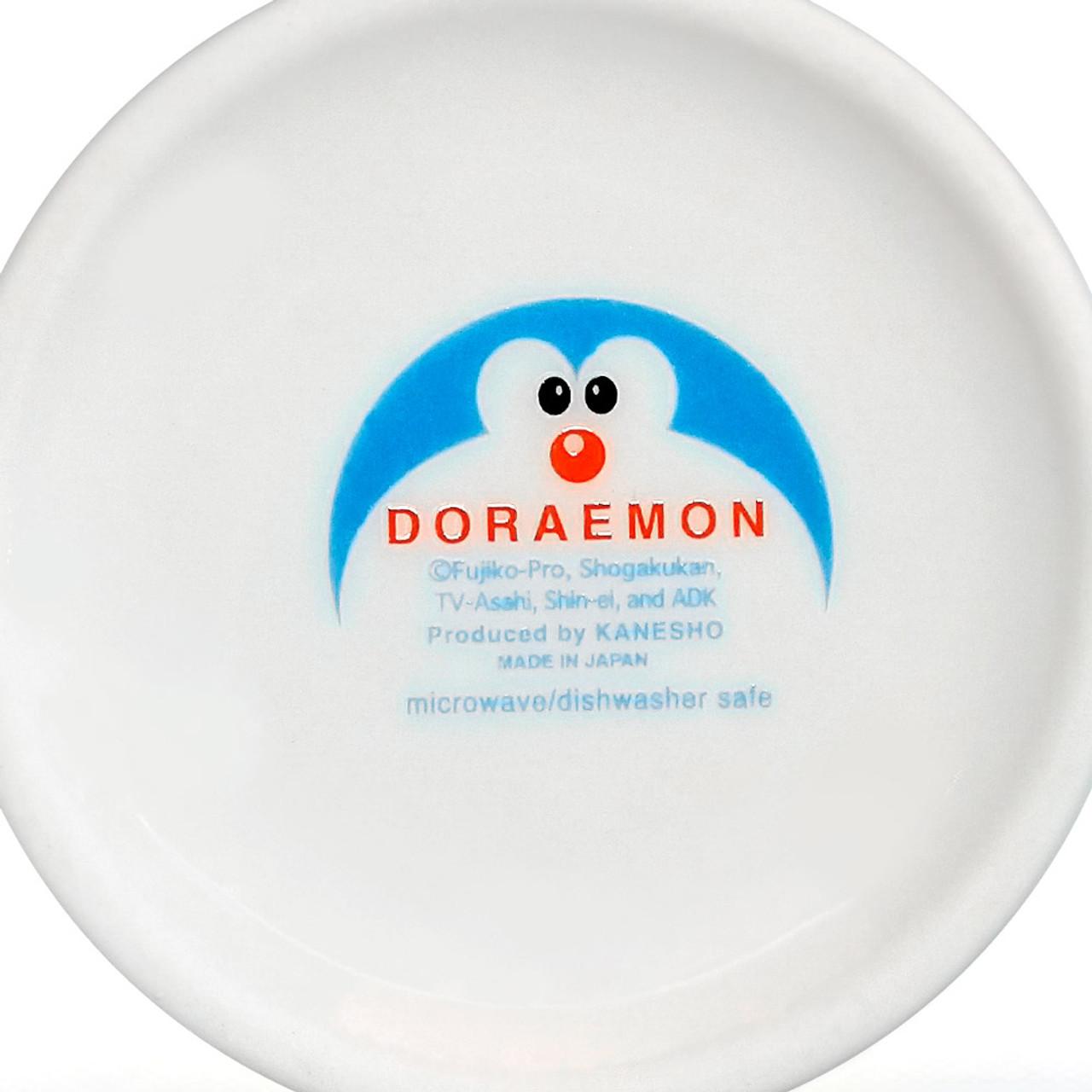 Japan Doraemon Face Porcelain Coffee Mug - Doraemon ( Bottom View )
