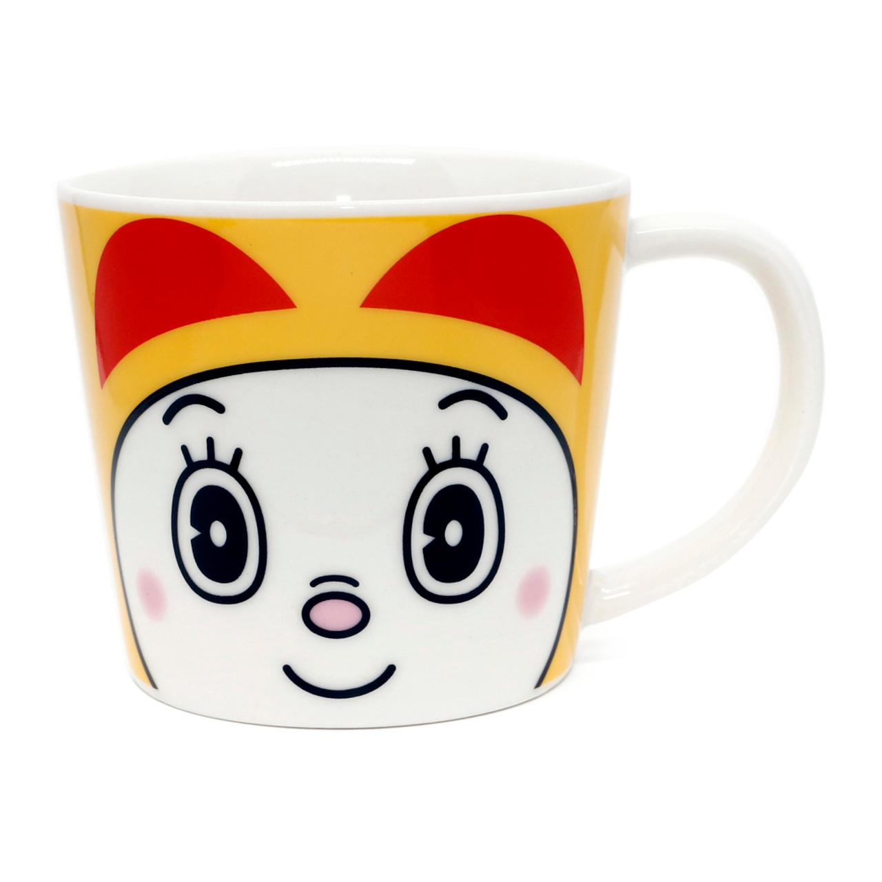Japan Doraemon Face Porcelain Coffee Cup - Dorami ( Front View )