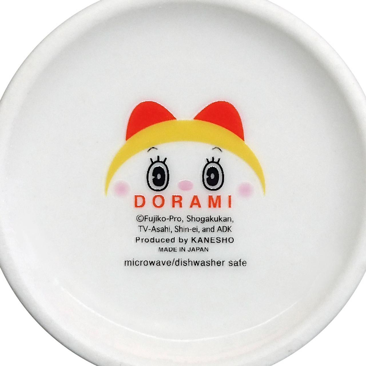 Japan Doraemon Face Porcelain Coffee Cup - Dorami ( Bottom View )