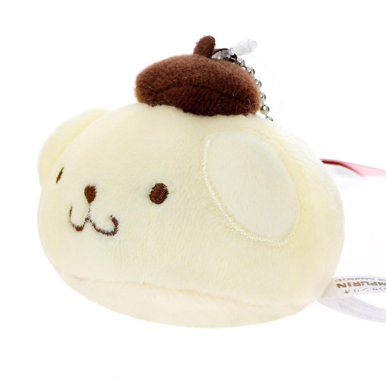 Pompompurin Steamed Buns Mascot Plush Keychain ( Side View )