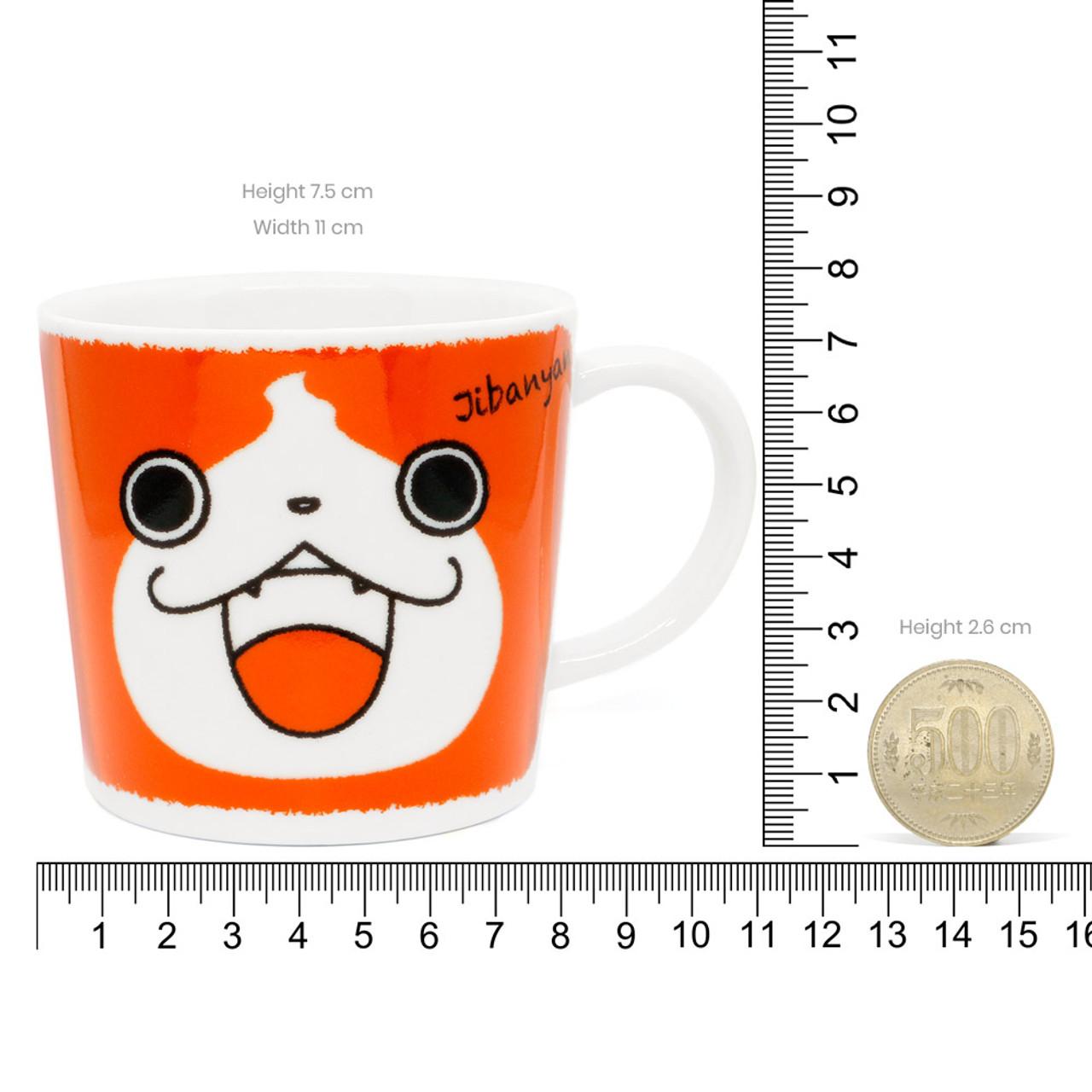 Yo-Kai Watch Jibanyan Tribe cat Porcelain Mug ( Proportion )