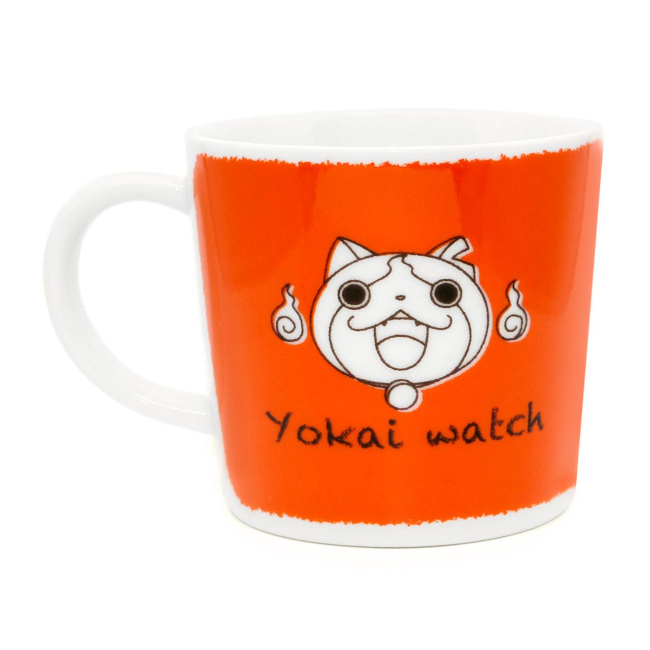 Yo-Kai Watch Jibanyan Tribe cat Porcelain Mug ( Back View )