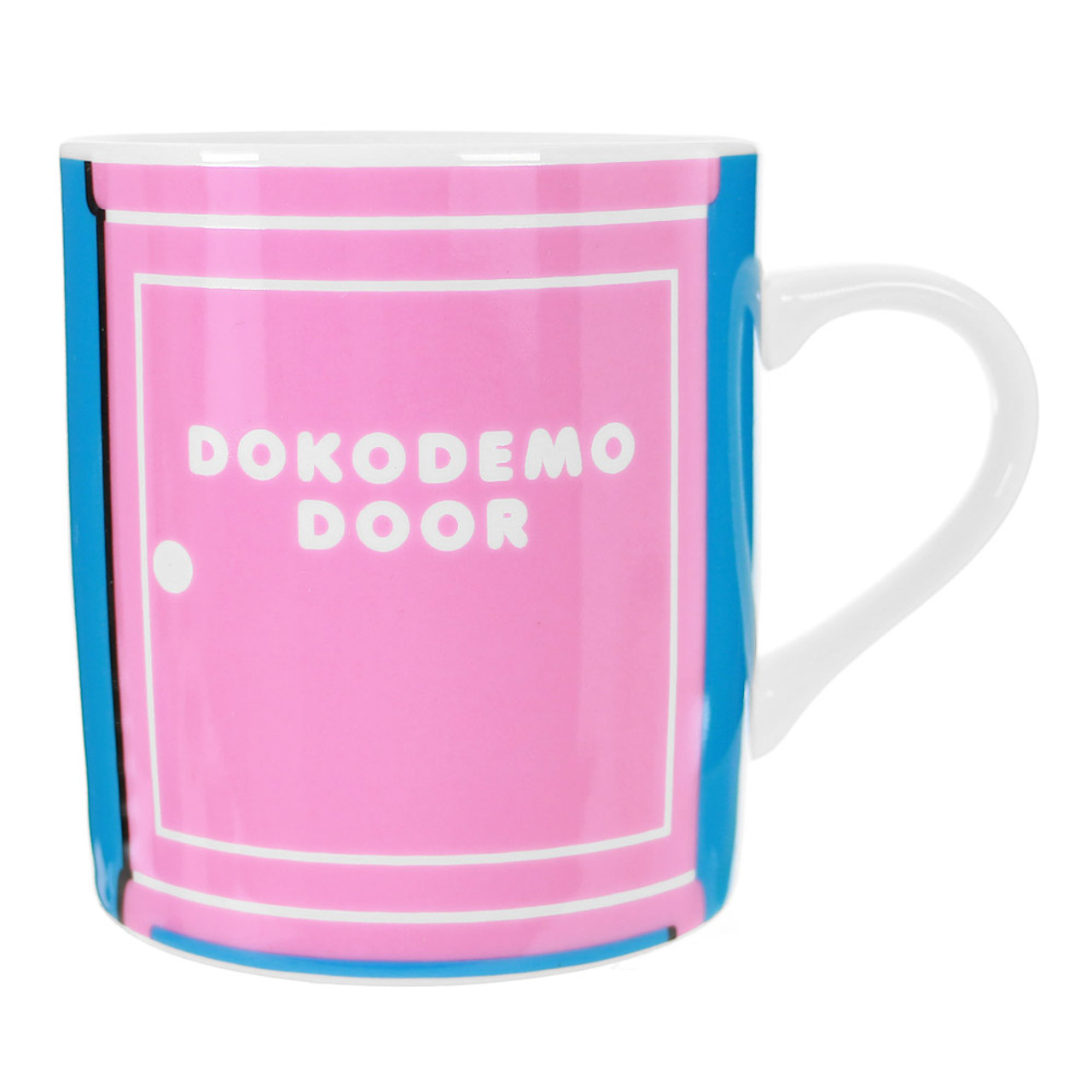 Doraemon Secret Pink Door Porcelain Cup ( Front View )