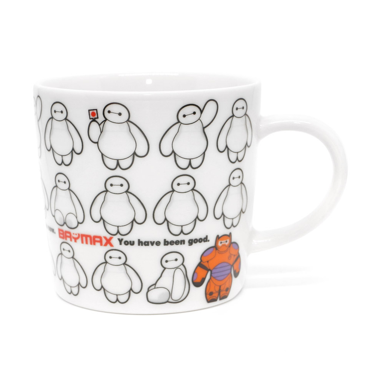 Disney Baymax Big Hero Coffee Cup ( Front View )