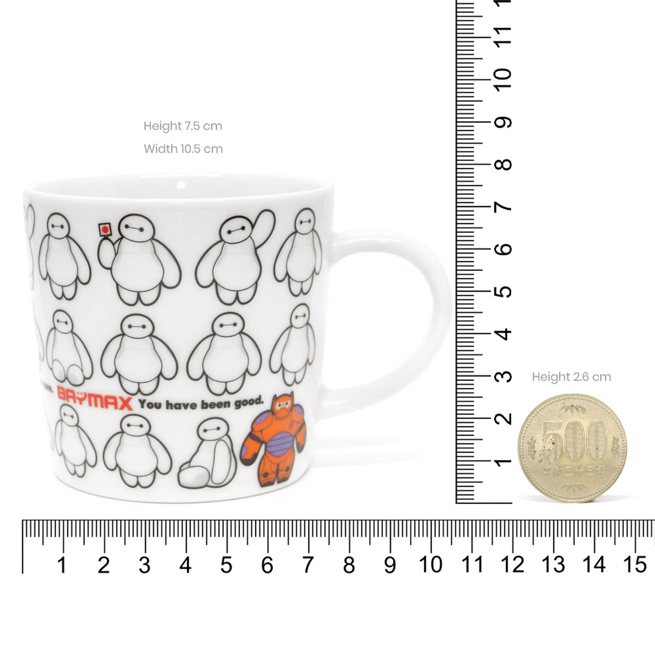 Disney Baymax Big Hero Coffee Cup ( Proportion )