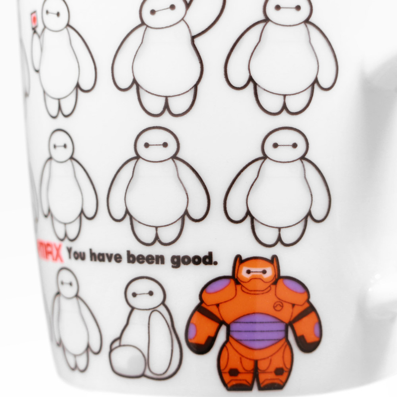 Disney Baymax Big Hero Coffee Cup ( Close-up 02 )