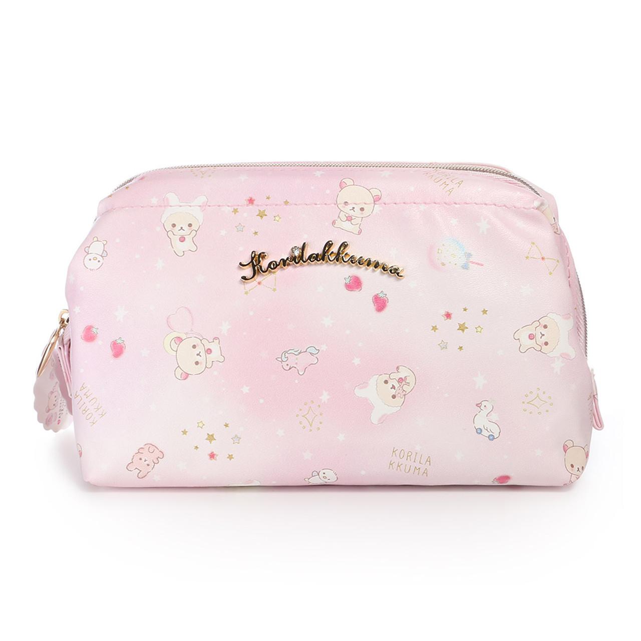 Korilakkuma Pink Fantasty Dream Cosmetic Bag ( Front View )