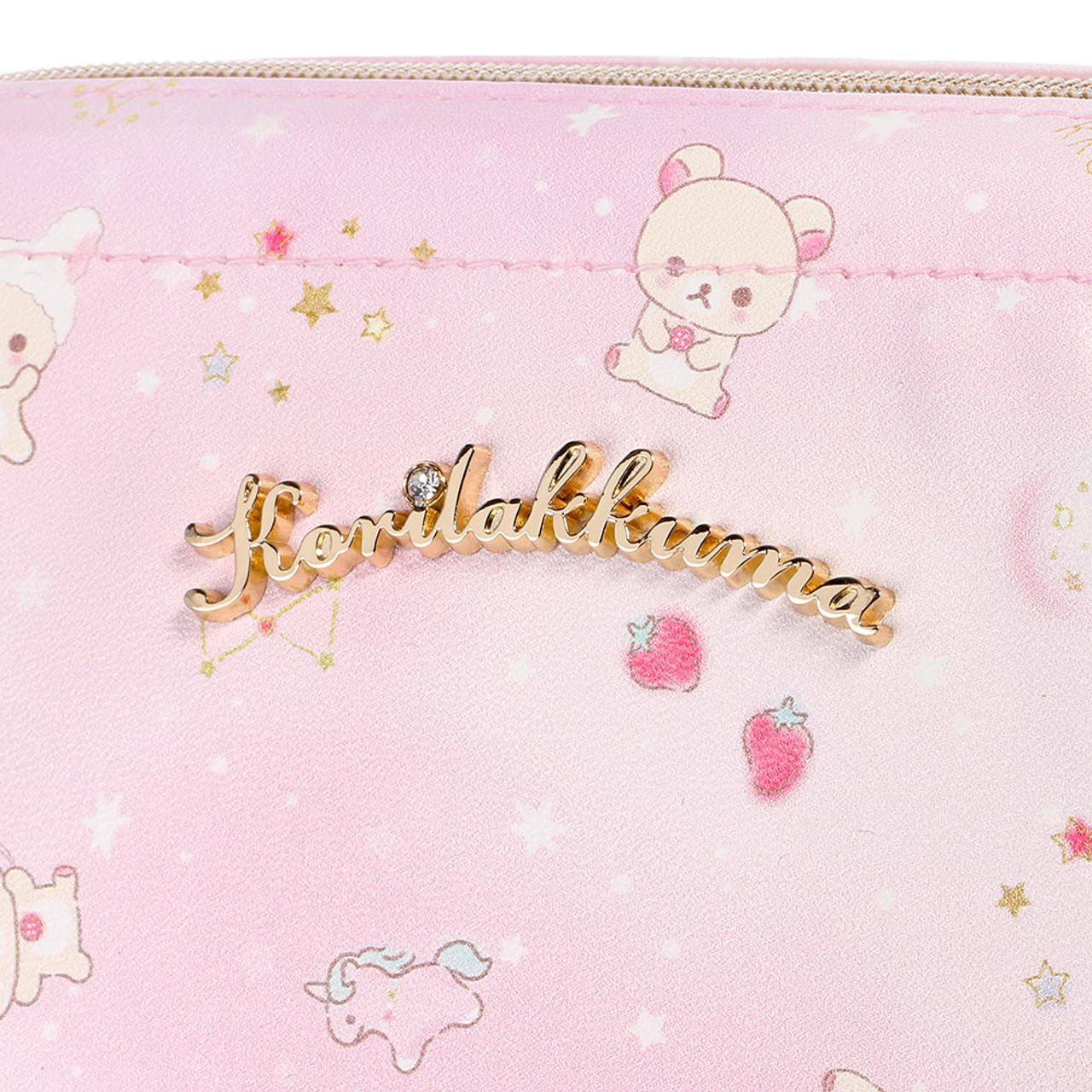 Korilakkuma Pink Fantasty Dream Cosmetic Bag ( Close-up )