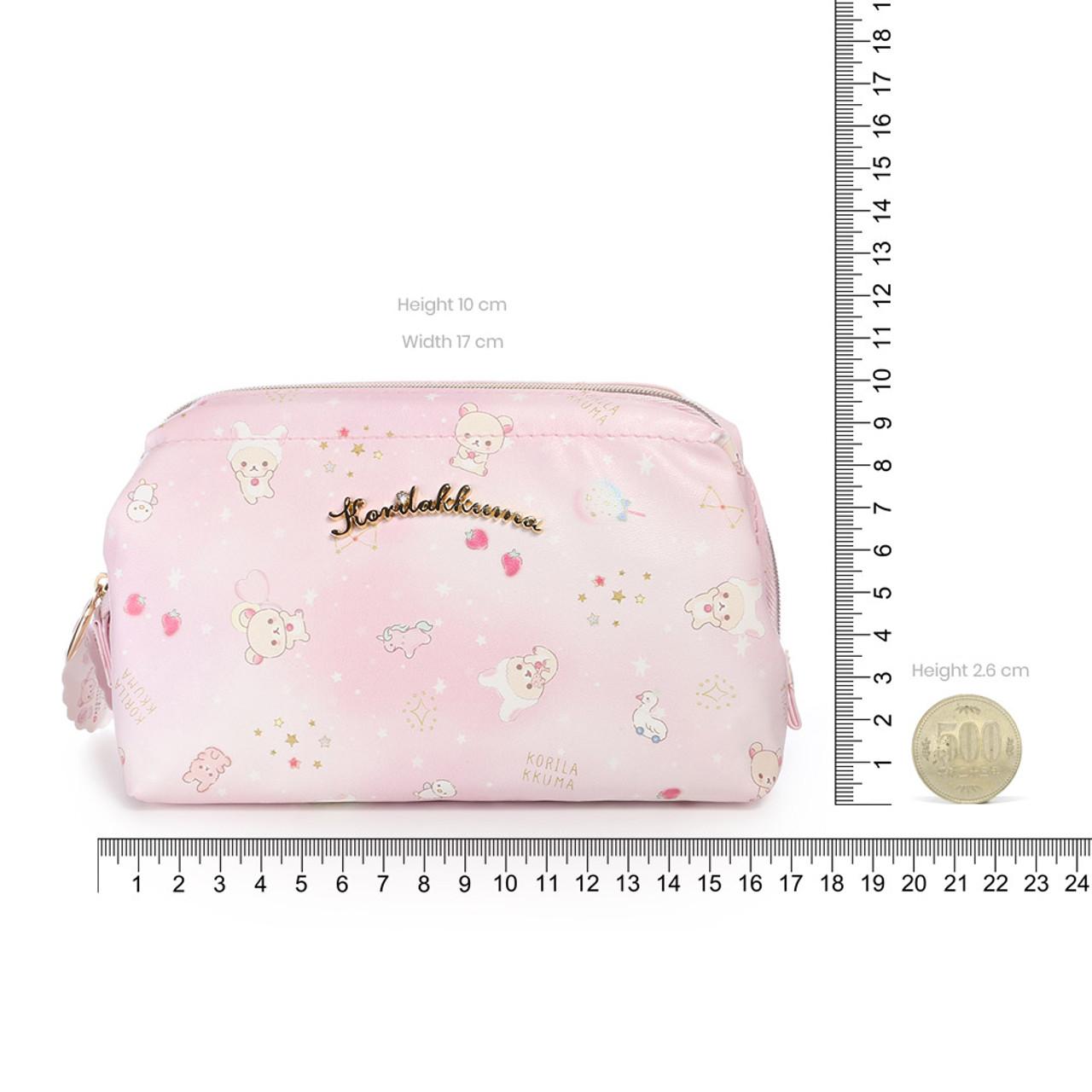 Korilakkuma Pink Fantasty Dream Cosmetic Bag ( Proportion )