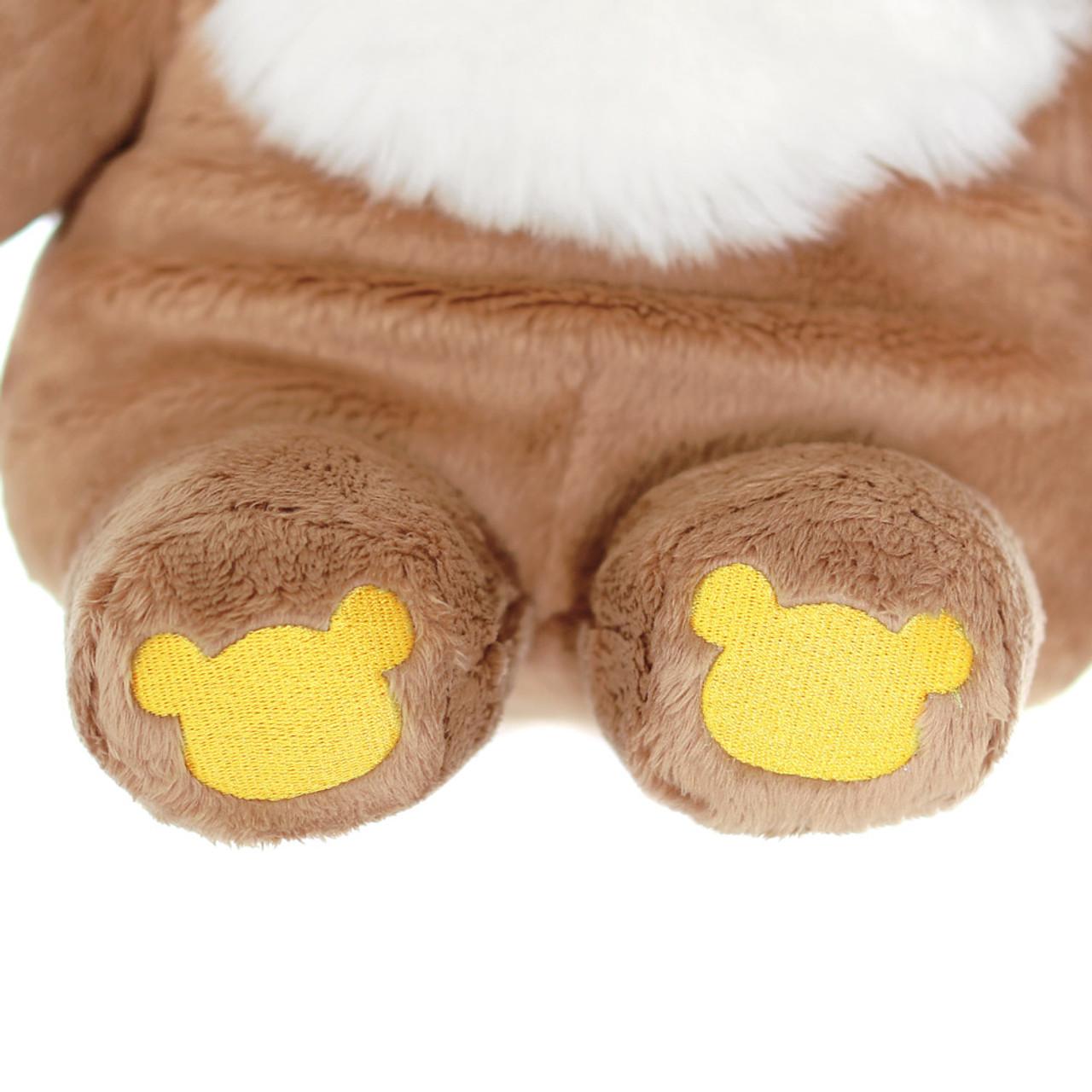 San-x Cute Sweet Chairoikoguma Bear Stuffed Animal Toy L MR94401 ( Foot View )